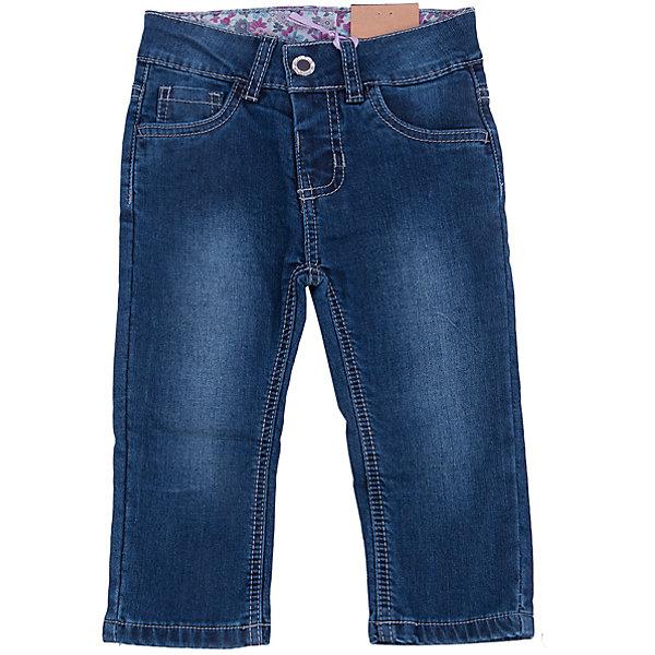 Джинсы для девочки Sweet BerryДжинсовая одежда<br>Такая модель джинсов для девочки отличается модным дизайном с контрастной прострочкой и потертостями. Удачный крой обеспечит ребенку комфорт и тепло. Мягкая и теплая подкладка делает вещь идеальной для прохладной погоды. Она плотно прилегает к телу там, где нужно, и отлично сидит по фигуре. Джинсы имеют удобный пояс с регулировкой внутри. Натуральный хлопок обеспечит коже возможность дышать и не вызовет аллергии.<br>Одежда от бренда Sweet Berry - это простой и выгодный способ одеть ребенка удобно и стильно. Всё изделия тщательно проработаны: швы - прочные, материал - качественный, фурнитура - подобранная специально для детей. <br><br>Дополнительная информация:<br><br>цвет: синий;<br>имитация потертостей;<br>материал: 100% хлопок, подкладка - 100% хлопок;<br>пояс с регулировкой внутри.<br><br>Джинсы для девочки от бренда Sweet Berry можно купить в нашем интернет-магазине.<br><br>Ширина мм: 215<br>Глубина мм: 88<br>Высота мм: 191<br>Вес г: 336<br>Цвет: синий<br>Возраст от месяцев: 12<br>Возраст до месяцев: 15<br>Пол: Женский<br>Возраст: Детский<br>Размер: 80,98,92,86<br>SKU: 4931198