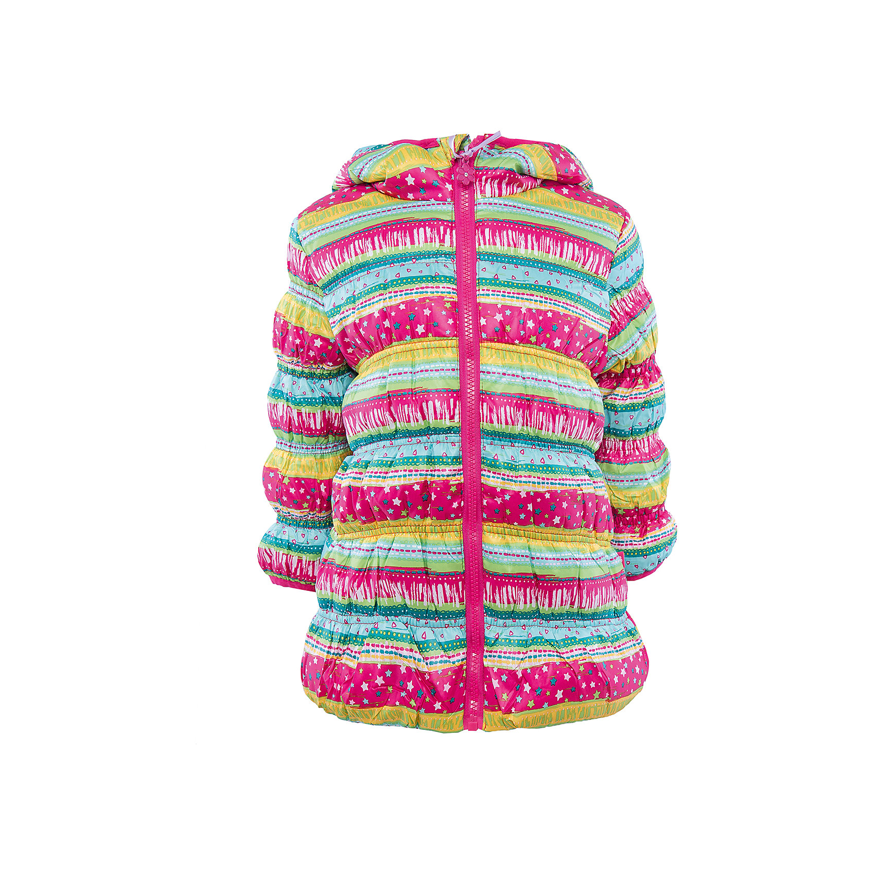 Куртка для девочки Sweet BerryКуртка для девочки.<br><br>Температурный режим: до -5 градусов. Степень утепления – низкая. <br><br>* Температурный режим указан приблизительно — необходимо, прежде всего, ориентироваться на ощущения ребенка. Температурный режим работает в случае соблюдения правила многослойности – использования флисовой поддевы и термобелья.<br><br>Такая модель куртки для девочки отличается модным дизайном. Удачный крой обеспечит ребенку комфорт и тепло. Флисовая подкладка делает вещь идеальной для прохладной погоды. Она плотно прилегает к телу там, где нужно, и отлично сидит по фигуре. Декорирована модель ярким серебристым принтом.<br>Одежда от бренда Sweet Berry - это простой и выгодный способ одеть ребенка удобно и стильно. Всё изделия тщательно проработаны: швы - прочные, материал - качественный, фурнитура - подобранная специально для детей. <br><br>Дополнительная информация:<br><br>цвет: розовый;<br>капюшон;<br>материал: верх, подкладка, наполнитель - 100% полиэстер;<br>застежка: молния;<br>принт.<br><br>Куртку для девочки от бренда Sweet Berry можно купить в нашем интернет-магазине.<br><br>Ширина мм: 356<br>Глубина мм: 10<br>Высота мм: 245<br>Вес г: 519<br>Цвет: розовый<br>Возраст от месяцев: 12<br>Возраст до месяцев: 15<br>Пол: Женский<br>Возраст: Детский<br>Размер: 80,98,92,86<br>SKU: 4931228