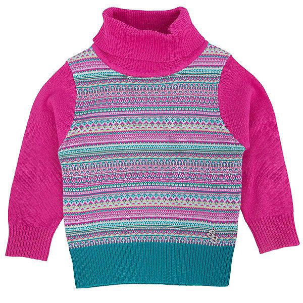 Водолазка для девочки Sweet BerryТолстовки, свитера, кардиганы<br>Эта водолазка для девочки отличается модным дизайном с узором. Удачный крой обеспечит ребенку комфорт и тепло. Высокое горло делает вещь идеальной для прохладной погоды. Она плотно прилегает к телу там, где нужно, и отлично сидит по фигуре. Натуральный хлопок в составе пряжи обеспечит коже возможность дышать и не вызовет аллергии.<br>Одежда от бренда Sweet Berry - это простой и выгодный способ одеть ребенка удобно и стильно. Всё изделия тщательно проработаны: швы - прочные, материал - качественный, фурнитура - подобранная специально для детей.<br><br>Дополнительная информация:<br><br>цвет: розовый;<br>состав: 60% хлопок, 40% акрил;<br>декорирована узором.<br><br>Водолазку для девочки от бренда Sweet Berry можно купить в нашем интернет-магазине.<br><br>Ширина мм: 230<br>Глубина мм: 40<br>Высота мм: 220<br>Вес г: 250<br>Цвет: розовый<br>Возраст от месяцев: 24<br>Возраст до месяцев: 36<br>Пол: Женский<br>Возраст: Детский<br>Размер: 98,80,86,92<br>SKU: 4931238
