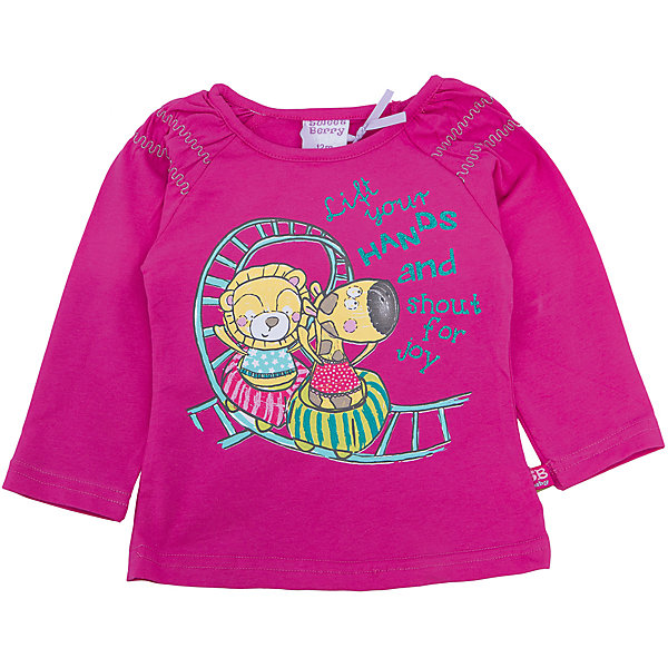 Футболка с длинным рукавом для девочки Sweet BerryФутболки с длинным рукавом<br>Такая футболка с длинным рукавом для девочки отличается модным дизайном с ярким принтом. Удачный крой обеспечит ребенку комфорт и тепло. Рукава красиво присборены. Вещь плотно прилегает к телу там, где нужно, и отлично сидит по фигуре.<br>Одежда от бренда Sweet Berry - это простой и выгодный способ одеть ребенка удобно и стильно. Всё изделия тщательно проработаны: швы - прочные, материал - качественный, фурнитура - подобранная специально для детей. <br><br>Дополнительная информация:<br><br>цвет: розовый;<br>материал: 95% хлопок, 5% эластан;<br>декорирована принтом.<br><br>Футболку с длинным рукавом для девочки от бренда Sweet Berry можно купить в нашем интернет-магазине.<br>Ширина мм: 230; Глубина мм: 40; Высота мм: 220; Вес г: 250; Цвет: розовый; Возраст от месяцев: 24; Возраст до месяцев: 36; Пол: Женский; Возраст: Детский; Размер: 98,80,92,86; SKU: 4931268;