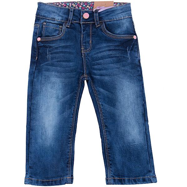 Джинсы для девочки Sweet BerryДжинсовая одежда<br>Такая модель джинсов для девочки отличается модным дизайном с контрастной прострочкой и потертостями. Удачный крой обеспечит ребенку комфорт и тепло. Мягкая подкладка делает вещь идеальной для повседневного ношения. Она плотно прилегает к телу там, где нужно, и отлично сидит по фигуре. Джинсы имеют удобный пояс с регулировкой внутри. Натуральный хлопок обеспечит коже возможность дышать и не вызовет аллергии.<br>Одежда от бренда Sweet Berry - это простой и выгодный способ одеть ребенка удобно и стильно. Всё изделия тщательно проработаны: швы - прочные, материал - качественный, фурнитура - подобранная специально для детей. <br><br>Дополнительная информация:<br><br>цвет: синий;<br>имитация потертостей;<br>материал: верх - 98% хлопок, 2% эластан, подкладка - 100% хлопок;<br>пояс с регулировкой внутри.<br><br>Джинсы для девочки от бренда Sweet Berry можно купить в нашем интернет-магазине.<br><br>Ширина мм: 215<br>Глубина мм: 88<br>Высота мм: 191<br>Вес г: 336<br>Цвет: синий<br>Возраст от месяцев: 12<br>Возраст до месяцев: 18<br>Пол: Женский<br>Возраст: Детский<br>Размер: 86,80,98,92<br>SKU: 4931283