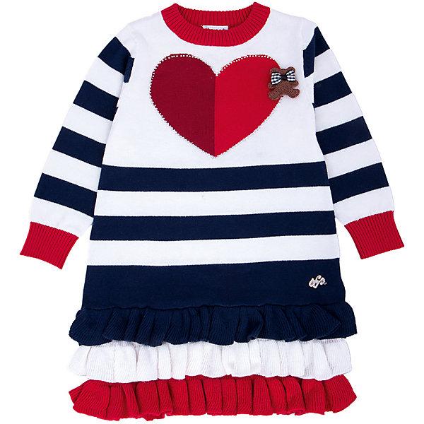 Платье для девочки Sweet BerryПлатья<br>Такое платье отличается модным дизайном с принтом и карманами. Удачный крой обеспечит ребенку комфорт и тепло. Плотный материал делает вещь идеальной для прохладной погоды. Она хорошо прилегает к телу там, где нужно, и отлично сидит по фигуре. Натуральный хлопок обеспечит коже возможность дышать и не вызовет аллергии.<br>Одежда от бренда Sweet Berry - это простой и выгодный способ одеть ребенка удобно и стильно. Всё изделия тщательно проработаны: швы - прочные, материал - качественный, фурнитура - подобранная специально для детей.<br><br>Дополнительная информация:<br><br>цвет: разноцветный;<br>состав: 100% хлопок;<br>декорировано сердечком и воланами.<br><br>Платье для девочки от бренда Sweet Berry можно купить в нашем интернет-магазине.<br><br>Ширина мм: 236<br>Глубина мм: 16<br>Высота мм: 184<br>Вес г: 177<br>Цвет: синий<br>Возраст от месяцев: 12<br>Возраст до месяцев: 15<br>Пол: Женский<br>Возраст: Детский<br>Размер: 80,98,92,86<br>SKU: 4931323