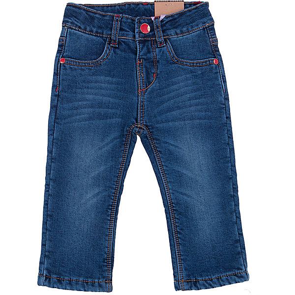 Джинсы для девочки Sweet BerryДжинсовая одежда<br>Такая модель джинсов для девочки отличается модным дизайном с контрастной прострочкой и потертостями. Удачный крой обеспечит ребенку комфорт и тепло. Мягкая и теплая флисовая подкладка делает вещь идеальной для прохладной погоды. Она плотно прилегает к телу там, где нужно, и отлично сидит по фигуре. Джинсы имеют удобный пояс на пуговице и молнии. Натуральный хлопок обеспечит коже возможность дышать и не вызовет аллергии.<br>Одежда от бренда Sweet Berry - это простой и выгодный способ одеть ребенка удобно и стильно. Всё изделия тщательно проработаны: швы - прочные, материал - качественный, фурнитура - подобранная специально для детей. <br><br>Дополнительная информация:<br><br>цвет: синий;<br>имитация потертостей;<br>материал: верх - 98% хлопок, 2% эластан, подкладка - 100% полиэстер;<br>пояс на пуговице и молнии.<br><br>Джинсы для девочки от бренда Sweet Berry можно купить в нашем интернет-магазине.<br>Ширина мм: 215; Глубина мм: 88; Высота мм: 191; Вес г: 336; Цвет: синий; Возраст от месяцев: 12; Возраст до месяцев: 15; Пол: Женский; Возраст: Детский; Размер: 80,98,92,86; SKU: 4931368;