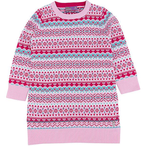 Платье для девочки Sweet BerryОсенне-зимние платья и сарафаны<br>Такое платье отличается модным дизайном с узором. Удачный крой обеспечит ребенку комфорт и тепло. Плотный материал делает вещь идеальной для прохладной погоды. Она хорошо прилегает к телу там, где нужно, и отлично сидит по фигуре. Натуральный хлопок в составе пряжи обеспечит коже возможность дышать и не вызовет аллергии.<br>Одежда от бренда Sweet Berry - это простой и выгодный способ одеть ребенка удобно и стильно. Всё изделия тщательно проработаны: швы - прочные, материал - качественный, фурнитура - подобранная специально для детей.<br><br>Дополнительная информация:<br><br>цвет: розовый;<br>состав: 60% хлопок, 40% акрил;<br>декорировано узором.<br><br>Платье для девочки от бренда Sweet Berry можно купить в нашем интернет-магазине.<br>Ширина мм: 236; Глубина мм: 16; Высота мм: 184; Вес г: 177; Цвет: розовый; Возраст от месяцев: 24; Возраст до месяцев: 36; Пол: Женский; Возраст: Детский; Размер: 122,116,110,98,104,128; SKU: 4931553;