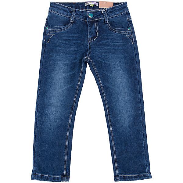 Джинсы для девочки Sweet BerryДжинсовая одежда<br>Такая модель джинсов для девочки отличается модным дизайном с контрастной прострочкой и потертостями. Удачный крой обеспечит ребенку комфорт и тепло. Мягкая подкладка делает вещь идеальной для повседневного ношения. Она плотно прилегает к телу там, где нужно, и отлично сидит по фигуре. Джинсы имеют удобный пояс с регулировкой внутри. Натуральный хлопок обеспечит коже возможность дышать и не вызовет аллергии.<br>Одежда от бренда Sweet Berry - это простой и выгодный способ одеть ребенка удобно и стильно. Всё изделия тщательно проработаны: швы - прочные, материал - качественный, фурнитура - подобранная специально для детей. <br><br>Дополнительная информация:<br><br>цвет: синий;<br>имитация потертостей;<br>материал: верх - 98% хлопок, 2% эластан, подкладка - 100% хлопок;<br>пояс с регулировкой внутри.<br><br>Джинсы для девочки от бренда Sweet Berry можно купить в нашем интернет-магазине.<br><br>Ширина мм: 215<br>Глубина мм: 88<br>Высота мм: 191<br>Вес г: 336<br>Цвет: синий<br>Возраст от месяцев: 24<br>Возраст до месяцев: 36<br>Пол: Женский<br>Возраст: Детский<br>Размер: 98,104,110,116,122,128<br>SKU: 4931567