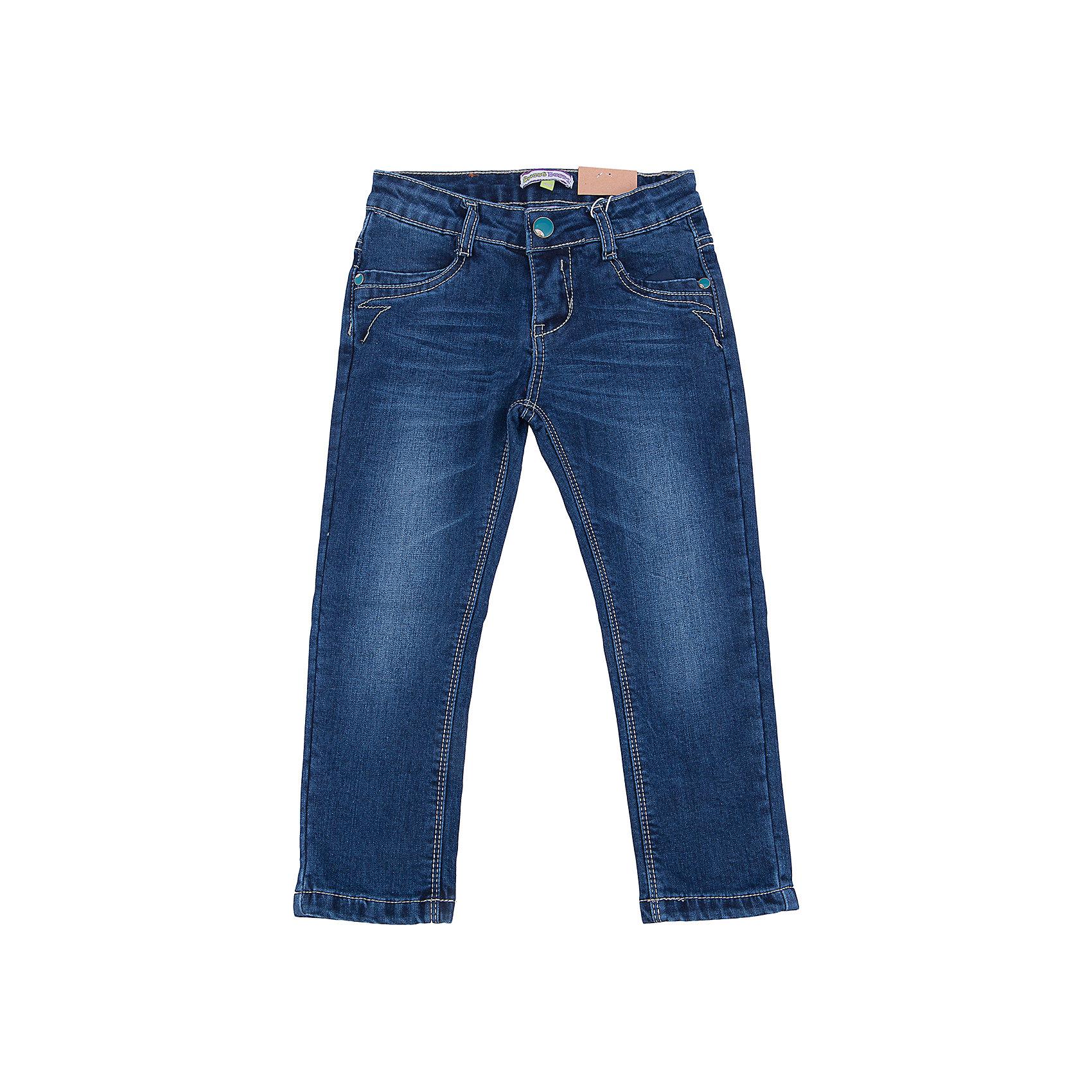 Джинсы для девочки Sweet BerryДжинсы<br>Такая модель джинсов для девочки отличается модным дизайном с контрастной прострочкой и потертостями. Удачный крой обеспечит ребенку комфорт и тепло. Мягкая подкладка делает вещь идеальной для повседневного ношения. Она плотно прилегает к телу там, где нужно, и отлично сидит по фигуре. Джинсы имеют удобный пояс с регулировкой внутри. Натуральный хлопок обеспечит коже возможность дышать и не вызовет аллергии.<br>Одежда от бренда Sweet Berry - это простой и выгодный способ одеть ребенка удобно и стильно. Всё изделия тщательно проработаны: швы - прочные, материал - качественный, фурнитура - подобранная специально для детей. <br><br>Дополнительная информация:<br><br>цвет: синий;<br>имитация потертостей;<br>материал: верх - 98% хлопок, 2% эластан, подкладка - 100% хлопок;<br>пояс с регулировкой внутри.<br><br>Джинсы для девочки от бренда Sweet Berry можно купить в нашем интернет-магазине.<br><br>Ширина мм: 215<br>Глубина мм: 88<br>Высота мм: 191<br>Вес г: 336<br>Цвет: синий<br>Возраст от месяцев: 24<br>Возраст до месяцев: 36<br>Пол: Женский<br>Возраст: Детский<br>Размер: 98,104,110,116,122,128<br>SKU: 4931567