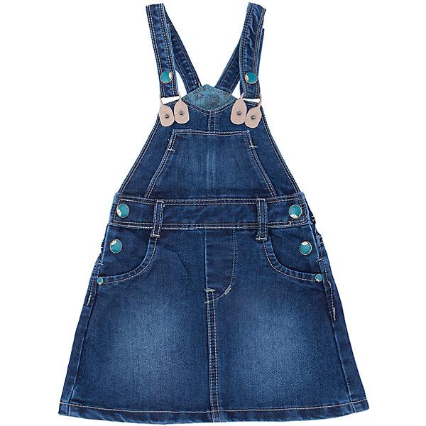 Сарафан джинсовый для девочки Sweet BerryДжинсовая одежда<br>Джинсовый сарафан. Декорирован цветной металлической  фурнитурой. Подкладка является дополнительной декоративной отделкой сарафана.<br>Состав:<br>100% хлопок<br><br>Ширина мм: 236<br>Глубина мм: 16<br>Высота мм: 184<br>Вес г: 177<br>Цвет: синий<br>Возраст от месяцев: 36<br>Возраст до месяцев: 48<br>Пол: Женский<br>Возраст: Детский<br>Размер: 104,98,128,122,116,110<br>SKU: 4931588