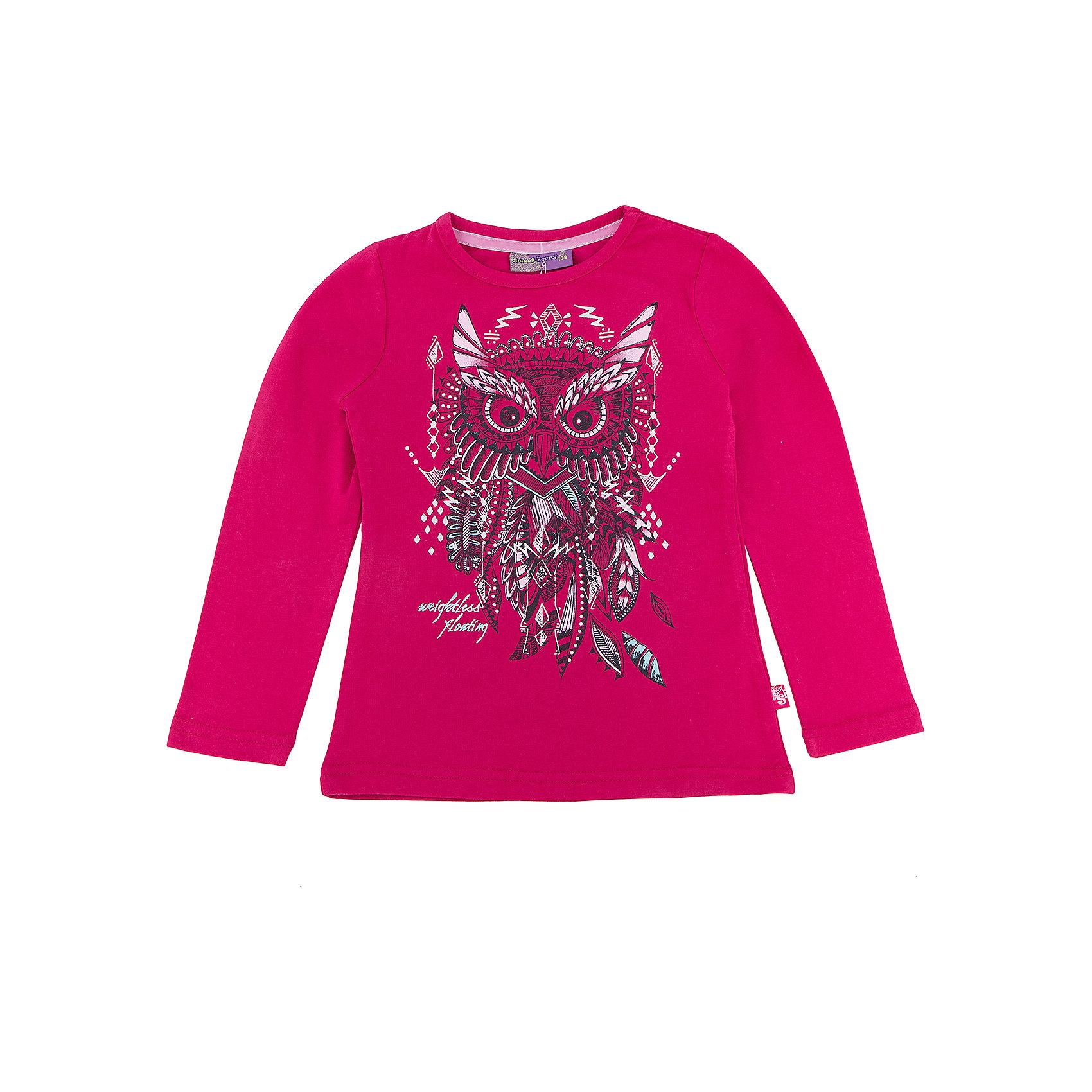 Футболка с длинным рукавом для девочки Sweet BerryФутболки с длинным рукавом<br>Такая футболка с длинным рукавом для девочки отличается модным дизайном с ярким принтом. Удачный крой обеспечит ребенку комфорт и тепло. Вещь плотно прилегает к телу там, где нужно, и отлично сидит по фигуре.<br>Одежда от бренда Sweet Berry - это простой и выгодный способ одеть ребенка удобно и стильно. Всё изделия тщательно проработаны: швы - прочные, материал - качественный, фурнитура - подобранная специально для детей. <br><br>Дополнительная информация:<br><br>цвет: розовый;<br>материал: 95% хлопок, 5% эластан;<br>декорирована принтом.<br><br>Футболку с длинным рукавом для девочки от бренда Sweet Berry можно купить в нашем интернет-магазине.<br><br>Ширина мм: 230<br>Глубина мм: 40<br>Высота мм: 220<br>Вес г: 250<br>Цвет: розовый<br>Возраст от месяцев: 24<br>Возраст до месяцев: 36<br>Пол: Женский<br>Возраст: Детский<br>Размер: 98,104,110,116,122,128<br>SKU: 4931616