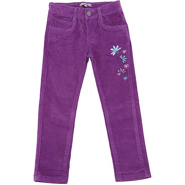Брюки для девочки Sweet BerryБрюки<br>Такая модель брюк для девочки отличается модным дизайном и ярким цветом. Удачный крой обеспечит ребенку комфорт и тепло. Вещь плотно прилегает к телу там, где нужно, и отлично сидит по фигуре. Брюки станут отличной вещью для гардероба девочки. Натуральный хлопок в составе материала обеспечит коже возможность дышать и не вызовет аллергии. Декорированы брюки симпатичной вышивкой.<br>Одежда от бренда Sweet Berry - это простой и выгодный способ одеть ребенка удобно и стильно. Всё изделия тщательно проработаны: швы - прочные, материал - качественный, фурнитура - подобранная специально для детей. <br><br>Дополнительная информация:<br><br>цвет: фиолетовый;<br>вельвет;<br>материал: 98% хлопок, 2% эластан;<br>застежка на пуговицу и молнию.<br><br>Брюки для девочки от бренда Sweet Berry можно купить в нашем интернет-магазине.<br><br>Ширина мм: 215<br>Глубина мм: 88<br>Высота мм: 191<br>Вес г: 336<br>Цвет: лиловый<br>Возраст от месяцев: 24<br>Возраст до месяцев: 36<br>Пол: Женский<br>Возраст: Детский<br>Размер: 98,128,122,116,110,104<br>SKU: 4931708