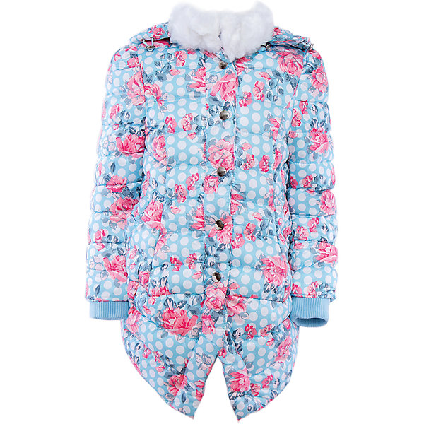 Пальто для девочки Sweet BerryЗимние куртки<br>Пальто – модная и нужная вещь наступающего сезона. <br><br>Температурный режим: до -5 градусов. Степень утепления – низкая. <br><br>* Температурный режим указан приблизительно — необходимо, прежде всего, ориентироваться на ощущения ребенка. Температурный режим работает в случае соблюдения правила многослойности – использования флисовой поддевы и термобелья.<br><br>Интересный принт делает пальто необычным и привлекает внимание. Шарма добавляет белая отстрочка из искусственного меха в районе горла. Слегка расклешенный силуэт делает пальто романтичным и по-настоящему девчачьим. Утепленная и стильная вещь не позволит девочке замерзнуть в холодную осеннюю погоду. Материалы, использованные при изготовлении одежды, полностью безопасны для детей и отвечают всем требованиям по качеству продукции данной категории.<br><br>Дополнительная информация: <br><br>декор белым мехом;<br>модный принт;<br>застежки: кнопки;<br>цвет: голубой;<br>материал: полиэстер 100%.<br><br>Пальто для девочки от компании Sweet Berry можно приобрести в нашем магазине.<br><br>Ширина мм: 356<br>Глубина мм: 10<br>Высота мм: 245<br>Вес г: 519<br>Цвет: голубой<br>Возраст от месяцев: 36<br>Возраст до месяцев: 48<br>Пол: Женский<br>Возраст: Детский<br>Размер: 104,98,128,122,116,110<br>SKU: 4931799