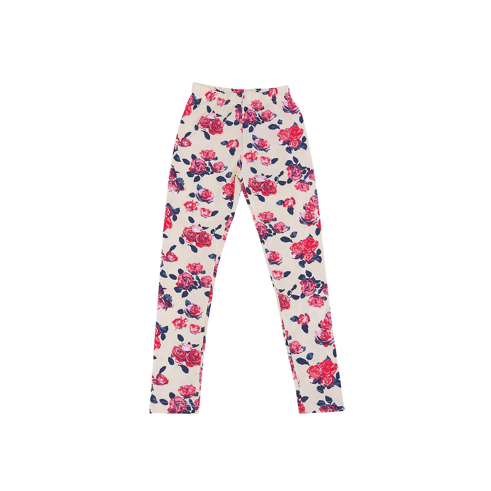 Леггинсы для девочки Sweet BerryЛеггинсы<br>Леггинсы – удобная одежда для дома или занятий спортом. Приятный материал обеспечивает комфорт на протяжении всего времени ношения вещи. Модный принт в цветок– отличительная особенность модели. Пояс выполнен из внутренней резинки. Леггинсы не имеют твердых вставок, поэтому подходят в качестве варианта одежды для сна. Нежный цвет подойдет ко многим детским вещам. Материалы, использованные при изготовлении одежды, полностью безопасны для детей и отвечают всем требованиям по качеству продукции данной категории.<br><br>Дополнительная информация: <br><br>пояс на резинке;<br>модный принт;<br>прямой крой;<br>цвет: бежевый;<br>материал: хлопок 95%, эластан 5%.<br><br>Леггинсы для девочки от компании Sweet Berry можно приобрести в нашем магазине.<br><br>Ширина мм: 123<br>Глубина мм: 10<br>Высота мм: 149<br>Вес г: 209<br>Цвет: бежевый<br>Возраст от месяцев: 24<br>Возраст до месяцев: 36<br>Пол: Женский<br>Возраст: Детский<br>Размер: 98,104,110,116,122,128<br>SKU: 4931985