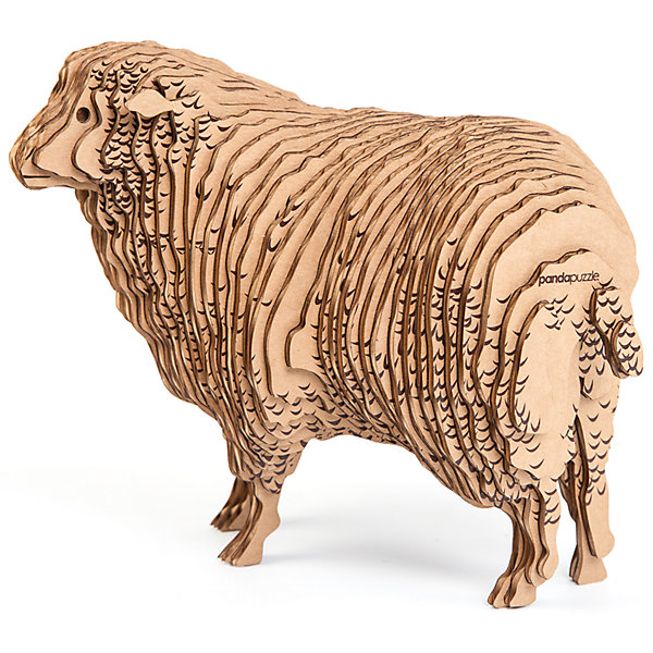 3D-Пазл «Овца», PandaPuzzleМодели из бумаги<br>3D-Пазл «Овца», PandaPuzzle ? головоломка от отечественного торгового бренда, который специализируется на выпуске трехмерных пазлов разной тематики. Все пазлы от PandaPuzzle выполнены из экологически безопасных материалов, имеют продуманный и реалистичный дизайн моделей. Выполненные из гофрокартона детали пазла отличаются легким весом и высокими физическими качествами: плотностью и жесткостью. Модель собирается в технике объемного квиллинга, что подразумевает склеивание деталей пазла между собой.  Собирая модели в данной технике, у ребенка развивается логическое мышление и мелкая моторика рук, тренируется зрительная память и внимательность. В каждый набор входит клей для склеивания деталей и инструкция по сбору модели. <br>3D-Пазл «Овца», PandaPuzzle упакован в стилизованную картонную коробку.<br><br>Дополнительная информация:<br><br>- Вид игр: игры-головоломки, сюжетно-ролевые<br>- Предназначение: для дома, для развивающих центров, для центров дополнительного образования<br>- Материал: гофрокартон<br>- Комплектация: 48 деталей, клей, инструкция<br>- Размер (Д*Ш*В): 43,5*6,7*26,5 см<br>- Вес: 580 г <br>- Пол: для мальчика/для девочки<br>- Особенности ухода: разрешается сухая чистка собранной модели<br><br>Подробнее:<br><br>• Для детей в возрасте: от 5 лет и до 16 лет<br>• Страна производитель: Россия<br>• Торговый бренд: PandaPuzzle<br><br>3D-Пазл «Овца», PandaPuzzle можно купить в нашем интернет-магазине.<br>Ширина мм: 435; Глубина мм: 67; Высота мм: 265; Вес г: 580; Возраст от месяцев: 60; Возраст до месяцев: 192; Пол: Унисекс; Возраст: Детский; SKU: 4932388;