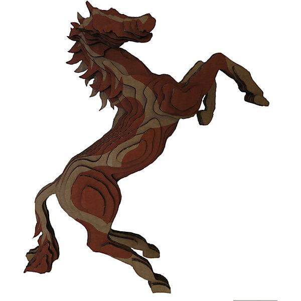 3D-Пазл «Лошадь», PandaPuzzle3D пазлы<br>3D-Пазл «Лошадь», PandaPuzzle ? головоломка от отечественного торгового бренда, который специализируется на выпуске трехмерных пазлов разной тематики. Все пазлы от PandaPuzzle выполнены из экологически безопасных материалов, имеют продуманный и реалистичный дизайн моделей. Выполненные из гофрокартона детали пазла отличаются легким весом и высокими физическими качествами: плотностью и жесткостью. Модель собирается в технике объемного квиллинга, что подразумевает склеивание деталей пазла между собой.  Собирая модели в данной технике, у ребенка развивается логическое мышление и мелкая моторика рук, тренируется зрительная память и внимательность. В каждый набор входит клей для склеивания деталей и инструкция по сбору модели. <br>3D-Пазл «Лошадь», PandaPuzzle упакован в стилизованную картонную коробку.<br><br>Дополнительная информация:<br><br>- Вид игр: игры-головоломки, сюжетно-ролевые<br>- Предназначение: для дома, для развивающих центров, для центров дополнительного образования<br>- Материал: гофрокартон<br>- Комплектация: 51 деталь, клей, инструкция<br>- Размер (Д*Ш*В): 19,5*9*26 см<br>- Вес: 200 г <br>- Пол: для мальчика/для девочки<br>- Особенности ухода: разрешается сухая чистка собранной модели<br><br>Подробнее:<br><br>• Для детей в возрасте: от 5 лет и до 16 лет<br>• Страна производитель: Россия<br>• Торговый бренд: PandaPuzzle<br><br>3D-Пазл «Лошадь», PandaPuzzle можно купить в нашем интернет-магазине.<br><br>Ширина мм: 195<br>Глубина мм: 90<br>Высота мм: 260<br>Вес г: 200<br>Возраст от месяцев: 60<br>Возраст до месяцев: 192<br>Пол: Унисекс<br>Возраст: Детский<br>SKU: 4932397