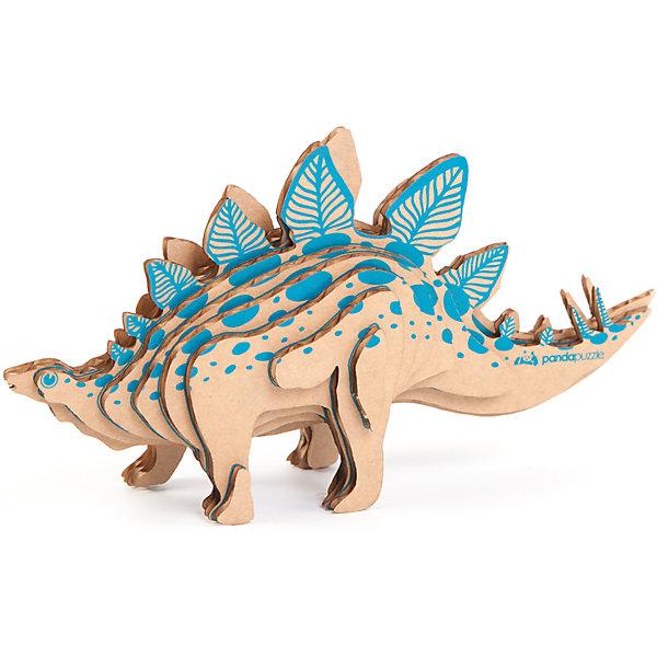 3D-Пазл «Стегозавр», PandaPuzzleКартонные модели<br>3D-Пазл «Стегозавр», PandaPuzzle ? головоломка от отечественного торгового бренда, который специализируется на выпуске трехмерных пазлов разной тематики. Все пазлы от PandaPuzzle выполнены из экологически безопасных материалов, имеют продуманный и реалистичный дизайн моделей. Выполненные из гофрокартона детали пазла отличаются легким весом и высокими физическими качествами: плотностью и жесткостью. Модель собирается в технике объемного квиллинга, что подразумевает склеивание деталей пазла между собой.  Собирая модели в данной технике, у ребенка развивается логическое мышление и мелкая моторика рук, тренируется зрительная память и внимательность. В каждый набор входит клей для склеивания деталей и инструкция по сбору модели. <br>3D-Пазл «Стегозавр», PandaPuzzle упакован в стилизованную картонную коробку.<br><br>Дополнительная информация:<br><br>- Вид игр: игры-головоломки, сюжетно-ролевые<br>- Предназначение: для дома, для развивающих центров, для центров дополнительного образования<br>- Материал: гофрокартон<br>- Комплектация: 18 деталей, клей, инструкция<br>- Размер (Д*Ш*В): 11*5*26 см<br>- Вес: 96 г <br>- Пол: для мальчика/для девочки<br>- Особенности ухода: разрешается сухая чистка собранной модели<br><br>Подробнее:<br><br>• Для детей в возрасте: от 5 лет и до 16 лет<br>• Страна производитель: Россия<br>• Торговый бренд: PandaPuzzle<br><br>3D-Пазл «Стегозавр», PandaPuzzle можно купить в нашем интернет-магазине.<br><br>Ширина мм: 110<br>Глубина мм: 50<br>Высота мм: 260<br>Вес г: 96<br>Возраст от месяцев: 60<br>Возраст до месяцев: 192<br>Пол: Унисекс<br>Возраст: Детский<br>SKU: 4932404