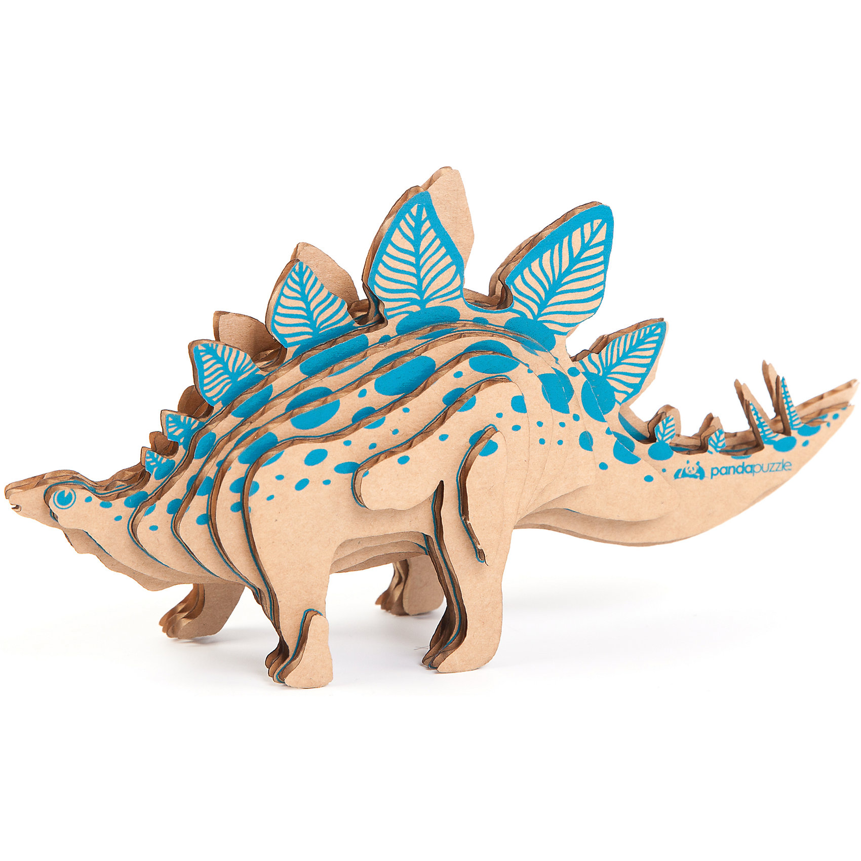 - 3D-Пазл «Стегозавр», PandaPuzzle пазлы magic pazle объемный 3d пазл эйфелева башня 78x38x35 см