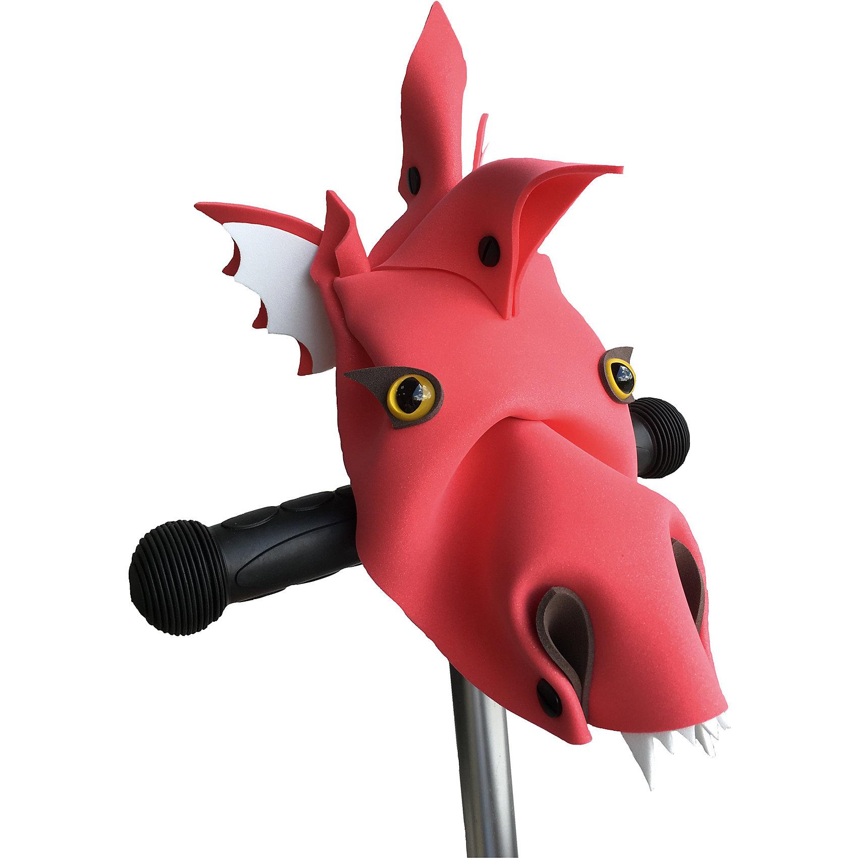 Руль Красный дракон Дракоша, PandaPuzzleРазвивающие игры<br>Руль Красный дракон Дракоша, PandaPuzzle ? аксессуар для велосипедов, самокатов и беговелов от отечественного торгового бренда. Руль изготовлен из экологических материалов: полимерного материала, пластика и бумаги. Забавный аксессуар, который крепится на руль, выполнен в форме головы дракона. Данная деталь украсит велосипед, самокат или беговел и сделает средство передвижения вашего ребенка ярким, красочным и уникальным. Набор состоит из модели головы героя, глаз, крепежа и инструкции. Аксессуар подходит только для Т-образных рулей.<br>Руль Красный дракон Дракоша, PandaPuzzle упакован в тубус.<br><br>Дополнительная информация:<br><br>- Вид игр: подвижные игры<br>- Предназначение: для дома, для прогулки<br>- Материал: ЭВА (полимерный материал), пластик, бумага<br>- Цвет: красный<br>- Комплектация: модель головы героя, глаза, инструкция, крепеж<br>- Размер (Д*Ш*В): 7,5*7,5*43 см<br>- Вес: 200 г <br>- Пол: для мальчика<br>- Особенности ухода: допускается влажная чистка за исключением деталей из бумаги<br><br>Подробнее:<br><br>• Для детей в возрасте: от 3 лет и до 16 лет<br>• Страна производитель: Россия<br>• Торговый бренд: PandaPuzzle<br><br>Руль Красный дракон Дракоша, PandaPuzzle можно купить в нашем интернет-магазине.<br><br>Ширина мм: 75<br>Глубина мм: 75<br>Высота мм: 430<br>Вес г: 200<br>Возраст от месяцев: 36<br>Возраст до месяцев: 192<br>Пол: Унисекс<br>Возраст: Детский<br>SKU: 4932408