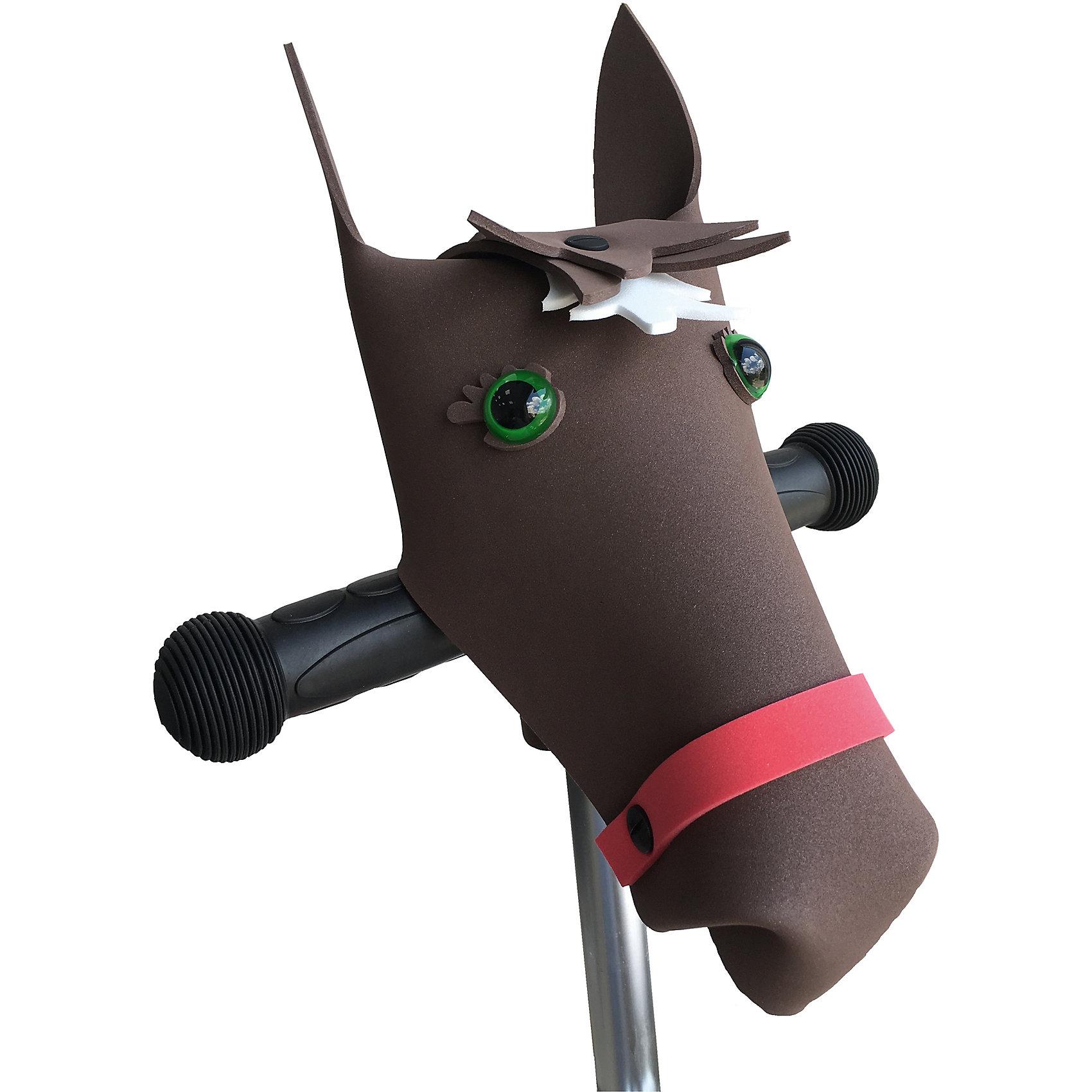 Руль Коричневая лошадь Викинг, PandaPuzzleРуль Коричневая лошадь Викинг, PandaPuzzle ? аксессуар для велосипедов, самокатов и беговелов от отечественного торгового бренда. Руль изготовлен из экологических материалов: полимерного материала, пластика и бумаги. Забавный аксессуар, который крепится на руль, выполнен в форме головы дракона. Данная деталь украсит велосипед, самокат или беговел и сделает средство передвижения вашего ребенка ярким, красочным и уникальным. Набор состоит из модели головы героя, глаз, крепежа и инструкции. Аксессуар подходит только для Т-образных рулей.<br>Руль Коричневая лошадь Викинг, PandaPuzzle упакован в тубус.<br><br>Дополнительная информация:<br><br>- Вид игр: подвижные игры<br>- Предназначение: для дома, для прогулки<br>- Материал: ЭВА (полимерный материал), пластик, бумага<br>- Цвет: коричневый<br>- Комплектация: модель головы героя, глаза, инструкция, крепеж<br>- Размер (Д*Ш*В): 7,5*7,5*43 см<br>- Вес: 200 г <br>- Пол: для мальчика<br>- Особенности ухода: допускается влажная чистка за исключением деталей из бумаги<br><br>Подробнее:<br><br>• Для детей в возрасте: от 3 лет и до 16 лет<br>• Страна производитель: Россия<br>• Торговый бренд: PandaPuzzle<br><br>Руль Коричневая лошадь Викинг, PandaPuzzle можно купить в нашем интернет-магазине.<br><br>Ширина мм: 75<br>Глубина мм: 75<br>Высота мм: 430<br>Вес г: 200<br>Возраст от месяцев: 36<br>Возраст до месяцев: 192<br>Пол: Унисекс<br>Возраст: Детский<br>SKU: 4932410