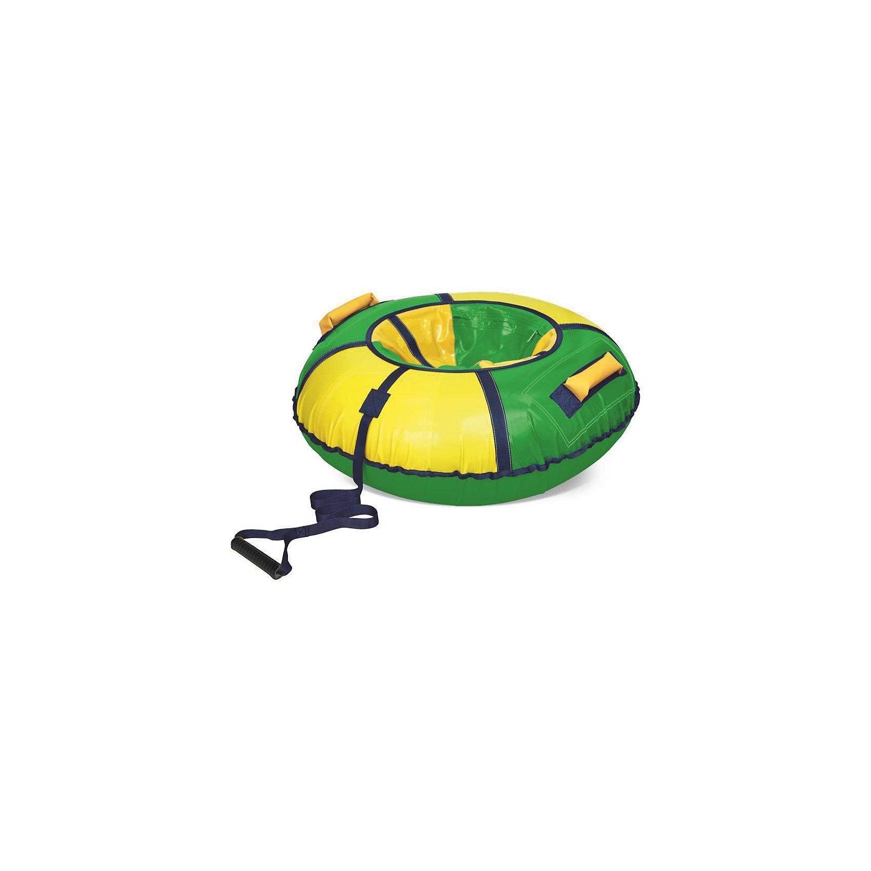 Тюбинг, жёлто-зеленый от myToys