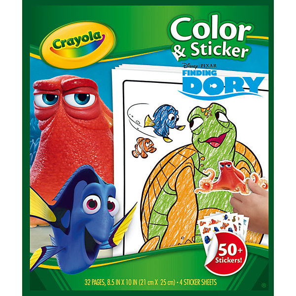 Раскраска с наклейками
