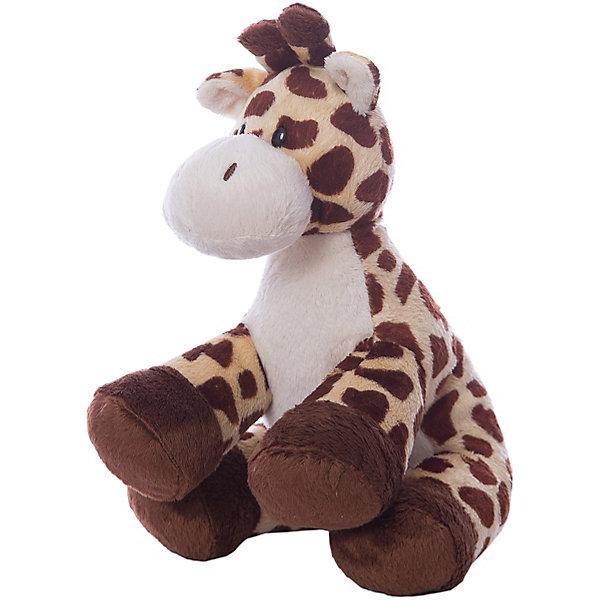 Жираф Tiptop, 25 смМягкие игрушки животные<br>Жираф Tiptop, 25 см – игрушка от бренда TY Inc (ТАЙ Инкорпорейтед), знаменитого своими мягкими игрушками, в качестве наполнителя для которых используются гранулы. Жираф выполнен из качественного и гипоаллергенного пятнистого текстиля с коротким ворсом на туловище и голове, на грудке – из белого цвета, а на копытцах – темно-коричневого. Используемые материалы делают игрушку прочной, устойчивой к изменению цвета и формы, ее разрешается стирать.<br>Жираф Tiptop, 25 см TY Inc непременно станет любимой игрушкой для вашего ребенка, а уникальный наполнитель будет способствовать  не  только развитию мелкой моторики пальцев, но и оказывать релаксирующее воздействие.<br><br>Дополнительная информация:<br><br>- Вид игр: сюжетно-ролевые игры, интерьерные игрушки, для коллекционирования<br>- Предназначение: для дома<br>- Материал: искусственный мех, пластик, наполнитель ? гранулы<br>- Высота: 25 см<br>- Особенности ухода: разрешается стирка<br>Подробнее:<br><br>• Для детей в возрасте: от 3 лет <br>• Страна производитель: Китай<br>• Торговый бренд: TY Inc <br><br>Жирафа Tiptop, 25 см можно купить в нашем интернет-магазине.<br><br>Ширина мм: 100<br>Глубина мм: 80<br>Высота мм: 250<br>Вес г: 170<br>Возраст от месяцев: 36<br>Возраст до месяцев: 2147483647<br>Пол: Унисекс<br>Возраст: Детский<br>SKU: 4936257