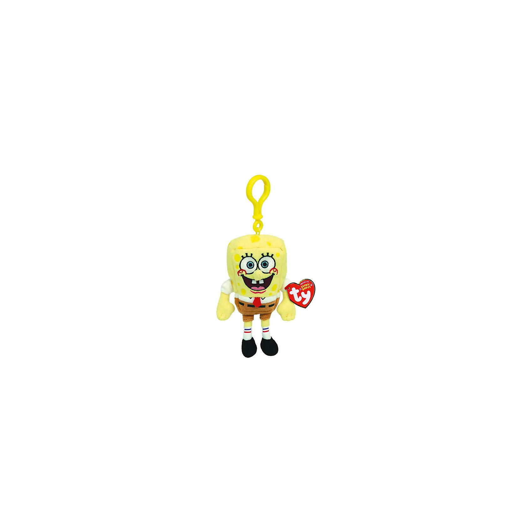 Игрушка Spongebob, 13 смИгрушка Spongebob, 13 см – игрушка от бренда TY Inc (ТАЙ Инкорпорейтед), знаменитого своими мягкими игрушками, в качестве наполнителя для которых используются гранулы. Губка Боб выполнен из качественного и гипоаллергенного плюша с коротким ворсом разных цветов. Внешний вид Губки Боба соотвествует своему прототипу. Используемые материалы делают игрушку прочной, устойчивой к изменению цвета и формы, ее разрешается стирать.<br>Игрушка Spongebob, 13 см TY Inc непременно станет любимой игрушкой для вашего ребенка, а уникальный наполнитель будет способствовать  не  только развитию мелкой моторики пальцев, но и оказывать релаксирующее воздействие. У игрушки имеется карабин, за счет чего ее можно прикреплять или подвешивать.<br><br>Дополнительная информация:<br><br>- Вид игр: сюжетно-ролевые игры, интерьерные игрушки, для коллекционирования<br>- Предназначение: для дома<br>- Материал: искусственный мех, пластик, наполнитель ? гранулы<br>- Высота: 13 см<br>- Особенности ухода: разрешается стирка<br>Подробнее:<br><br>• Для детей в возрасте: от 3 лет <br>• Страна производитель: Китай<br>• Торговый бренд: TY Inc <br><br>Игрушку Spongebob, 13 см можно купить в нашем интернет-магазине.<br><br>Ширина мм: 130<br>Глубина мм: 60<br>Высота мм: 40<br>Вес г: 150<br>Возраст от месяцев: 36<br>Возраст до месяцев: 2147483647<br>Пол: Унисекс<br>Возраст: Детский<br>SKU: 4936262