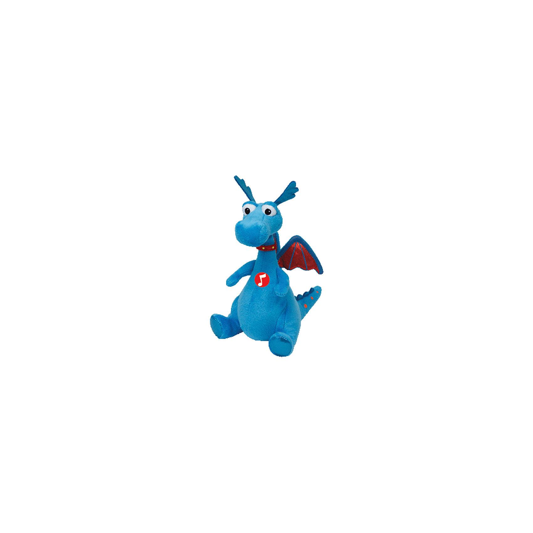 Дракон Stuffy, 17 см, звуковые эффекты, Доктор Плюшева