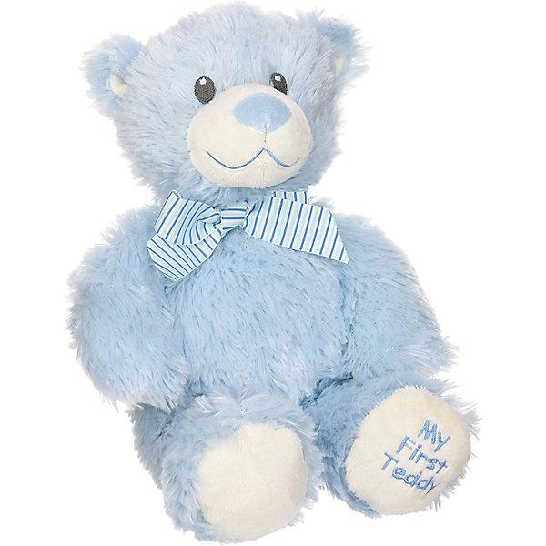Медвежонок My First Teddy (голубой), 20 смМягкие игрушки животные<br>Медвежонок My First Teddy (голубой), 20 см – игрушка от бренда TY Inc (ТАЙ Инкорпорейтед), знаменитого своими мягкими игрушками, в качестве наполнителя для которых используются гранулы. Медвежонок выполнен из качественного и гипоаллергенного плюша с коротким ворсом голубого цвета. На шее у межвежонка повязан бант из голубой ленточки. Используемые материалы делают игрушку прочной, устойчивой к изменению цвета и формы, ее разрешается стирать.<br>Медвежонок My First Teddy (голубой), 20 см TY Inc непременно станет любимой игрушкой для вашего ребенка, а уникальный наполнитель будет способствовать  не  только развитию мелкой моторики пальцев, но и оказывать релаксирующее воздействие. Эта игрушка станет идеальным подарком для новорожденного мальчика.<br><br><br>Дополнительная информация:<br><br>- Вид игр: сюжетно-ролевые игры, интерьерные игрушки, для коллекционирования<br>- Предназначение: для дома<br>- Пол: для мальчика<br>- Материал: искусственный мех, пластик, наполнитель ? гранулы<br>- Высота: 20 см<br>- Особенности ухода: разрешается стирка<br>Подробнее:<br><br>• Для детей в возрасте: от 3 лет <br>• Страна производитель: Китай<br>• Торговый бренд: TY Inc <br><br>Медвежонка My First Teddy (голубой), 20 см можно купить в нашем интернет-магазине.<br>Ширина мм: 90; Глубина мм: 60; Высота мм: 200; Вес г: 200; Возраст от месяцев: 36; Возраст до месяцев: 2147483647; Пол: Унисекс; Возраст: Детский; SKU: 4936267;