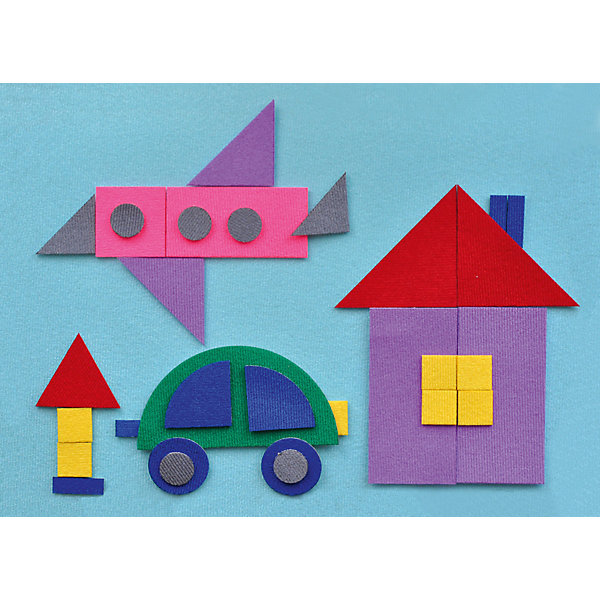 Игра на липучках Геометрическая мозаика 2, StigisИзучаем цвета и формы<br>Стигисы Геометрическая мозаика 2, Стигис от компании Стигис ТМ – это новое направление в развивающих игрушках для детей. Стигисы выполнены по инновационной технологии, представляющей собой основное поле и набор из фигурок- аппликаций. Элементы крепятся на поле за счет невидимых и безопасных липучек. Все элементы набора выполнены из качественных материалов, которые устойчивы к деформации и изменению цвета. Комплектация набора включает в экран и 32 различные по цвету и форме геометрические фигуры.<br>Стигисы Геометрическая мозаика 2 способствуют формированию первых математических представлений в легкой игровой форме, знакомит с основными геометрическими фигурами и цветами, развивает логическое и пространственное мышление. <br>Стигисы Геометрическая мозаика 2 может использоваться как дополнение к набору Геометрическая мозаика 1<br><br>Дополнительная информация:<br><br>- Вид игр: сюжетно-ролевые игры, развивающие<br>- Предназначение: для дома, для детских садов, для развивающих центров<br>- Материал: текстиль<br>- Комплектация: экран 30*21 см, 32 геометрические фигуры<br>- Размер упаковки (ДхШхВ): 30*21,5*5 см<br>- Вес: 140 г<br>- Особенности ухода: допускается сухая чистка<br><br>Подробнее:<br><br>• Для детей в возрасте: от 2 лет и до 10 лет <br>• Страна производитель: Россия<br>• Торговый бренд: Стигис ТМ<br><br>Стигисы Геометрическая мозаика 2, Стигис можно купить в нашем интернет-магазине.<br>Ширина мм: 300; Глубина мм: 215; Высота мм: 5; Вес г: 140; Возраст от месяцев: 24; Возраст до месяцев: 120; Пол: Унисекс; Возраст: Детский; SKU: 4936347;
