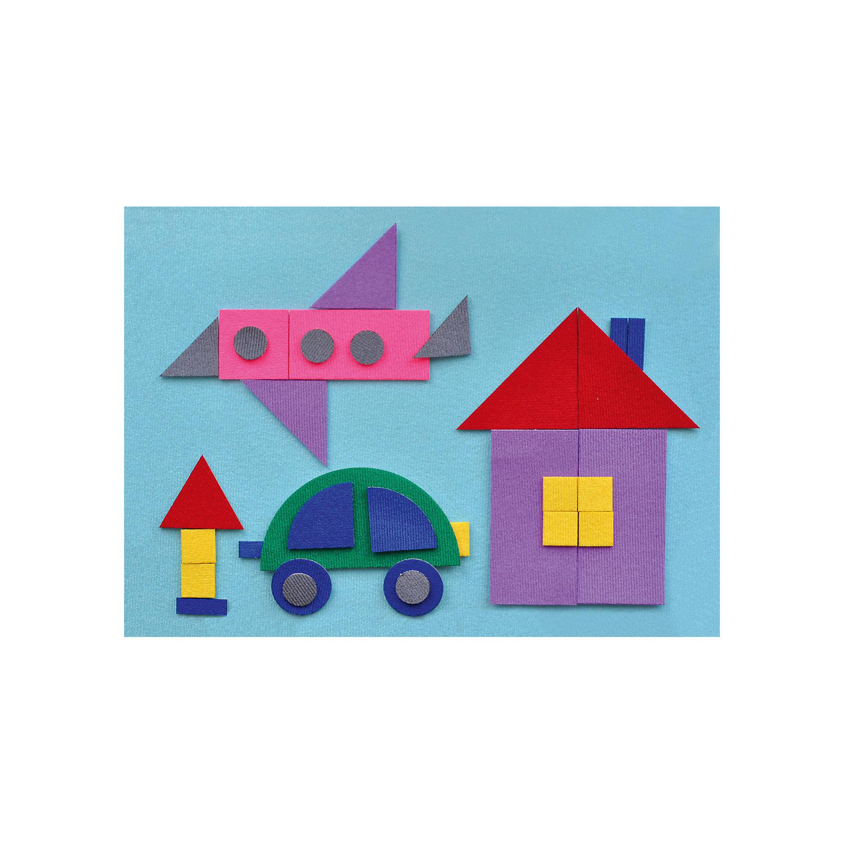 Игра на липучках Геометрическая мозаика 2, StigisСтигисы Геометрическая мозаика 2, Стигис от компании Стигис ТМ – это новое направление в развивающих игрушках для детей. Стигисы выполнены по инновационной технологии, представляющей собой основное поле и набор из фигурок- аппликаций. Элементы крепятся на поле за счет невидимых и безопасных липучек. Все элементы набора выполнены из качественных материалов, которые устойчивы к деформации и изменению цвета. Комплектация набора включает в экран и 32 различные по цвету и форме геометрические фигуры.<br>Стигисы Геометрическая мозаика 2 способствуют формированию первых математических представлений в легкой игровой форме, знакомит с основными геометрическими фигурами и цветами, развивает логическое и пространственное мышление. <br>Стигисы Геометрическая мозаика 2 может использоваться как дополнение к набору Геометрическая мозаика 1<br><br>Дополнительная информация:<br><br>- Вид игр: сюжетно-ролевые игры, развивающие<br>- Предназначение: для дома, для детских садов, для развивающих центров<br>- Материал: текстиль<br>- Комплектация: экран 30*21 см, 32 геометрические фигуры<br>- Размер упаковки (ДхШхВ): 30*21,5*5 см<br>- Вес: 140 г<br>- Особенности ухода: допускается сухая чистка<br><br>Подробнее:<br><br>• Для детей в возрасте: от 2 лет и до 10 лет <br>• Страна производитель: Россия<br>• Торговый бренд: Стигис ТМ<br><br>Стигисы Геометрическая мозаика 2, Стигис можно купить в нашем интернет-магазине.<br><br>Ширина мм: 300<br>Глубина мм: 215<br>Высота мм: 5<br>Вес г: 140<br>Возраст от месяцев: 24<br>Возраст до месяцев: 120<br>Пол: Унисекс<br>Возраст: Детский<br>SKU: 4936347