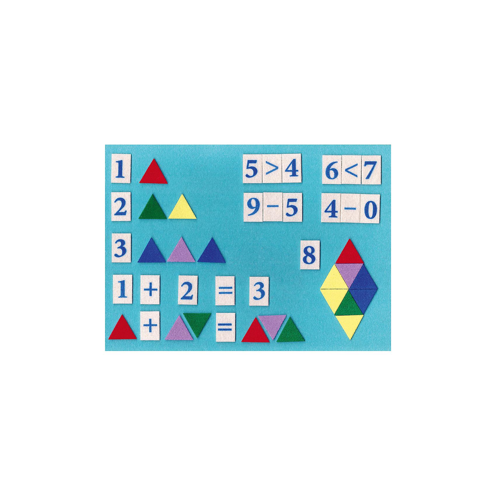 Игра на липучках Математическая мозаика цветная, StigisСтигисы Математическая мозаика цветная, Стигис от компании Стигис ТМ – это новое направление в развивающих игрушках для детей. Стигисы выполнены по инновационной технологии, представляющей собой основное поле и набор из фигурок- аппликаций. Элементы крепятся на поле за счет невидимых и безопасных липучек. Все элементы набора выполнены из качественных материалов, которые устойчивы к деформации и изменению цвета. Комплектация набора включает в экран и набор из цифр, математических знаков и геометрических фигур.<br>Стигисы Математическая мозаика цветная способствуют формированию первых математических представлений в легкой игровой форме, знакомит с основными математическими действиями и счетом, развивает логическое мышление, память и внимание. <br><br>Дополнительная информация:<br><br>- Вид игр: сюжетно-ролевые игры, развивающие<br>- Предназначение: для дома, для детских садов, для развивающих центров<br>- Материал: текстиль<br>- Комплектация: экран 30*21 см, 15 цифр, 8 математических знаков, 20 разноцветных треугольников<br>- Размер упаковки (ДхШхВ): 30*21,5*5 см<br>- Вес: 140 г<br>- Особенности ухода: допускается сухая чистка<br><br>Подробнее:<br><br>• Для детей в возрасте: от 3 лет и до 10 лет <br>• Страна производитель: Россия<br>• Торговый бренд: Стигис ТМ<br><br>Стигисы Математическая мозаика цветная, Стигис можно купить в нашем интернет-магазине.<br><br>Ширина мм: 300<br>Глубина мм: 215<br>Высота мм: 5<br>Вес г: 140<br>Возраст от месяцев: 36<br>Возраст до месяцев: 120<br>Пол: Унисекс<br>Возраст: Детский<br>SKU: 4936349