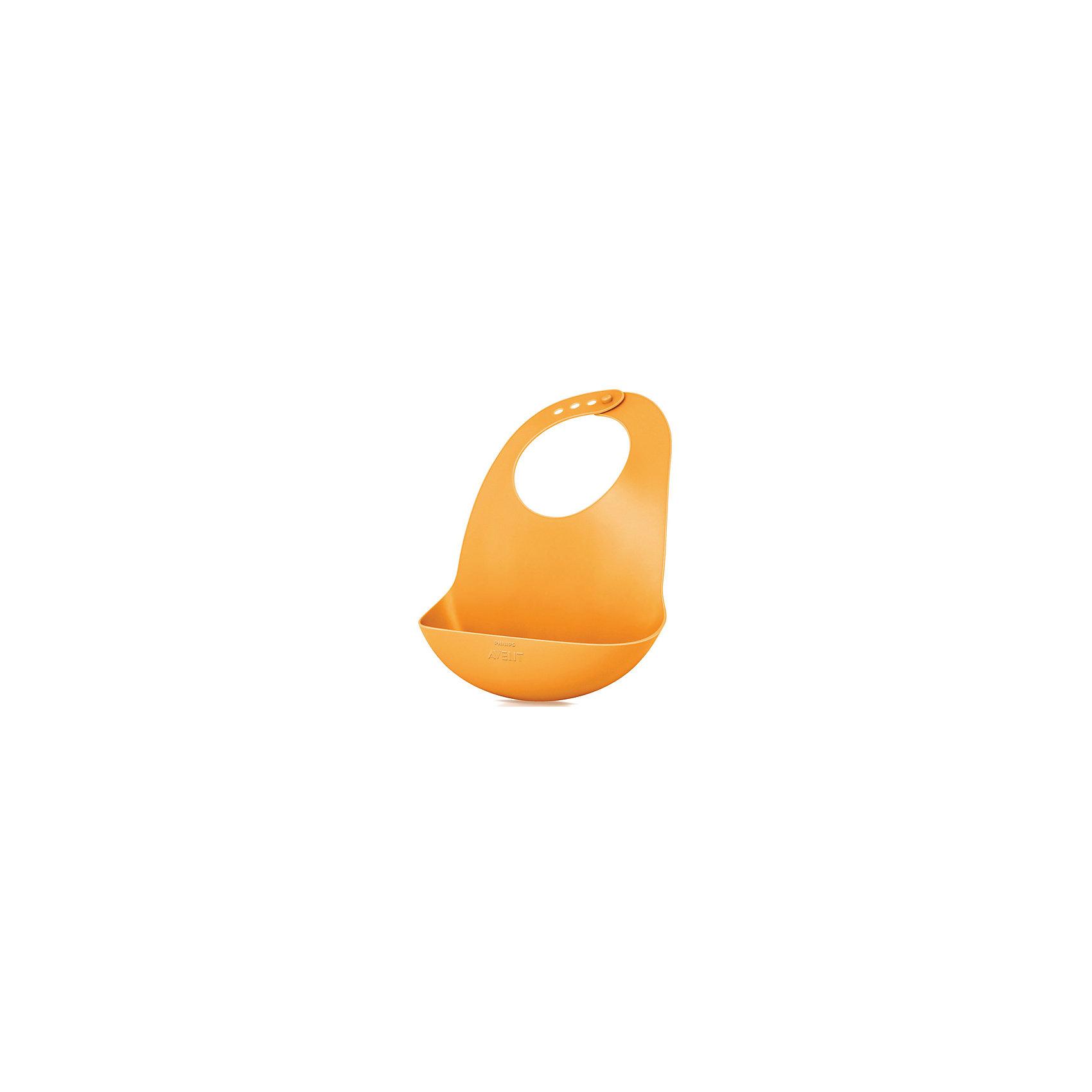 PHILIPS AVENT Нагрудник SCF736/00, Philips Avent, оранжевый материнская плата gigabyte ga b85m d2v soc 1150
