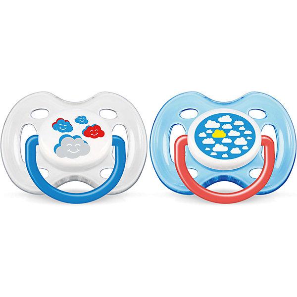 Соска-пустышка 0-6 мес, 2 шт, Classic, Philips Avent, белый/синийСиликоновые пустышки<br>Невероятно удобная, симметрично мягкая соска-пустышка специально для Вашего ребенка! Соска выполнена учитывая строение и естественное развитие неба, зубов и десен малыша и гарантирует комфорт.<br><br>Дополнительная информация:<br><br>- Возраст: с рождения и до 6 месяцев.<br>- Кол-во в упаковке: 2 шт.<br>- Цвет: белый/синий<br>- Состав: высококачественный силикон.<br>- Размер упаковки: 5х10х10 см.<br>- Вес в упаковке: 63 г.<br><br>Купить соску-пустышку Classiс от Philips Avent, можно в нашем магазине.<br><br>Ширина мм: 50<br>Глубина мм: 100<br>Высота мм: 100<br>Вес г: 63<br>Возраст от месяцев: 0<br>Возраст до месяцев: 6<br>Пол: Женский<br>Возраст: Детский<br>SKU: 4936373