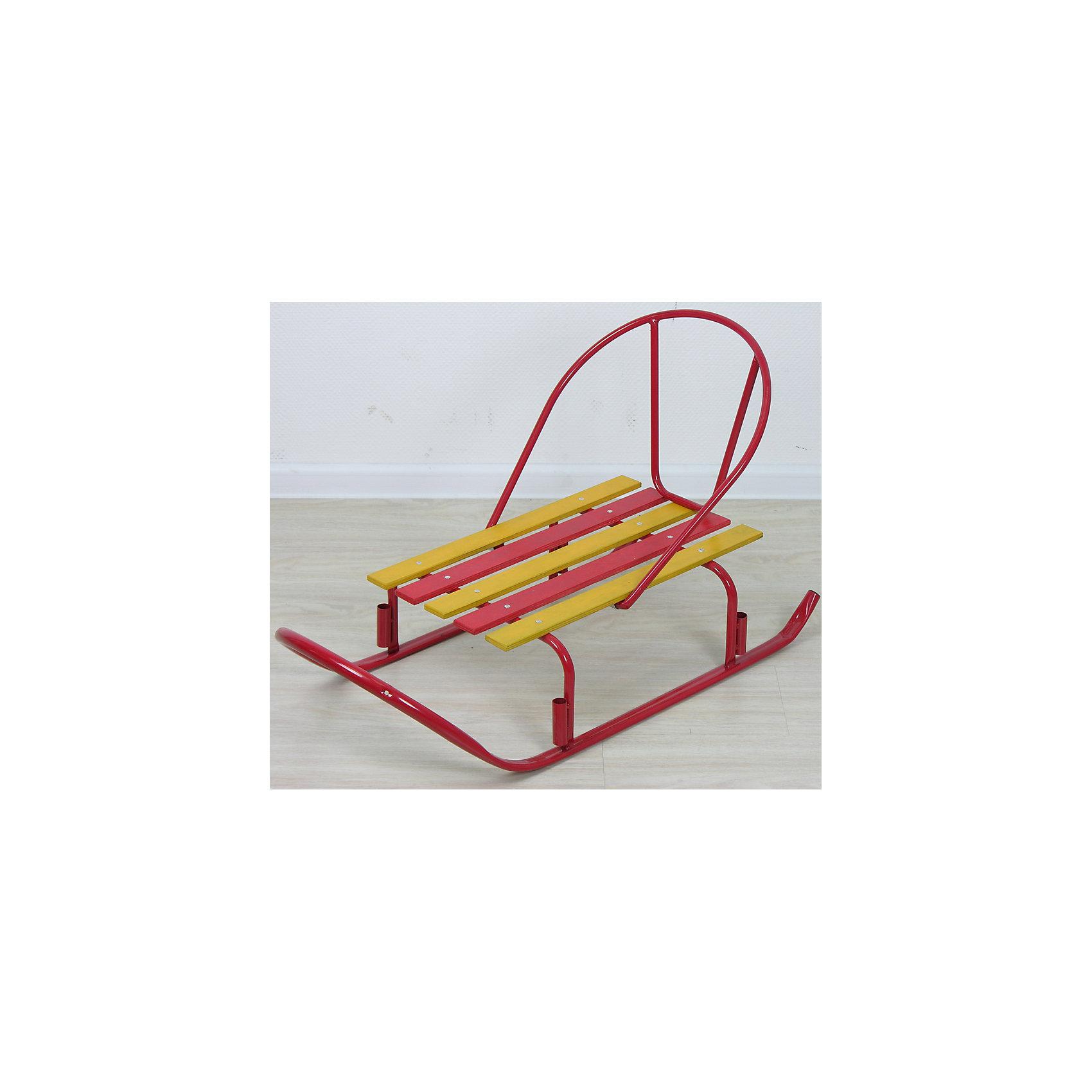 Санки Искра, красныйСанки и снегокаты<br>Санки Искра, красный произведены отечественным торговым брендом Фея. Санки выполнены в классическом исполнении: металлический каркас, широкие полозья, высокая спинка – все эти элементы делают их удобными и безопасными. Сидение выполнено из деревянных окрашенных реек. Сани укомплектованы съемной ручкой, которая может устанавливаться в двух положениях. Детские санки окрашены в яркие цвета: красный и желтый.<br><br>Дополнительная информация:<br><br>- Предназначение: для зимних прогулок<br>- Материал: металл, дерево<br>- Пол: для девочки<br>- Максимальный вес: 50 кг<br>- Цвет: красный, желтый<br>- Размер (Д*Ш*В): 80*45,5*39 см<br>- Вес: 2 кг 600 г<br>- Особенности ухода: можно протирать влажной губкой<br><br>Подробнее:<br><br>• Для детей в возрасте: от 10 месяцев и до 24 месяцев<br>• Страна производитель: Россия<br>• Торговый бренд: Фея<br><br>Санки Искра, красный можно купить в нашем интернет-магазине.<br><br>Ширина мм: 800<br>Глубина мм: 455<br>Высота мм: 390<br>Вес г: 2600<br>Возраст от месяцев: 10<br>Возраст до месяцев: 24<br>Пол: Женский<br>Возраст: Детский<br>SKU: 4936377