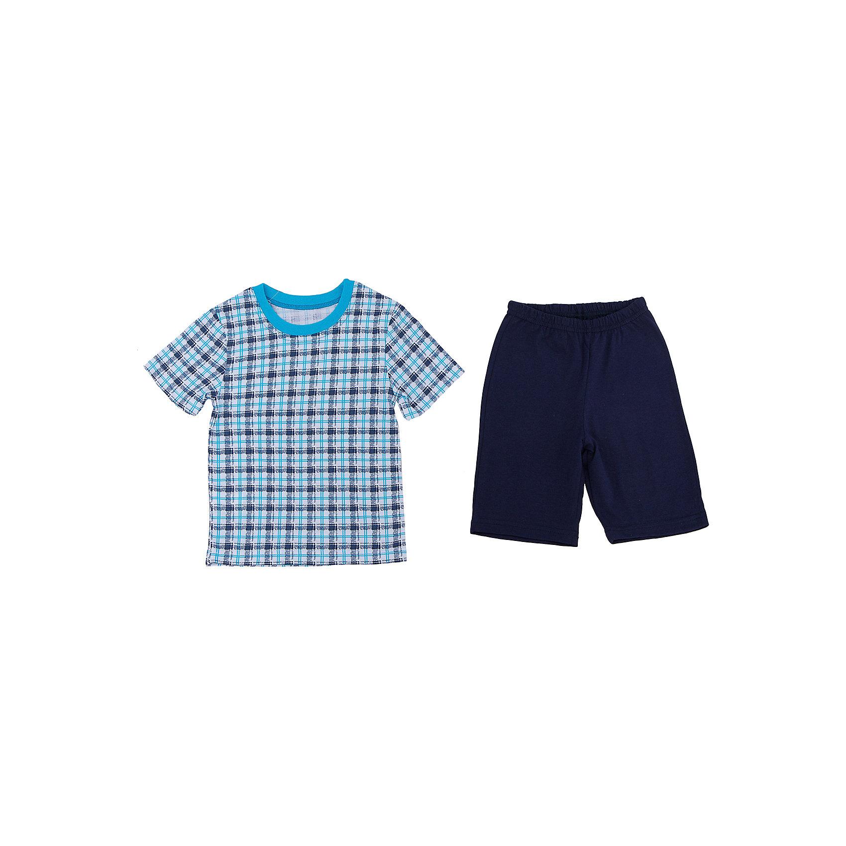 Пижама для мальчика АпрельПижама для мальчика Апрель.<br><br>Характеристики:<br>• состав: 100% хлопок<br>• цвет: синий<br><br>Пижама от марки Апрель изготовлена из мягкого хлопка, приятного на ощупь. Синие шорты хорошо сочетаются с футболкой в клетку. Спать в такой пижаме очень комфортно!<br><br>Пижаму для мальчика Апрель можно приобрести в нашем интернет-магазине.<br><br>Ширина мм: 281<br>Глубина мм: 70<br>Высота мм: 188<br>Вес г: 295<br>Цвет: синий<br>Возраст от месяцев: 60<br>Возраст до месяцев: 72<br>Пол: Мужской<br>Возраст: Детский<br>Размер: 116,86,92,98,104,110<br>SKU: 4936785
