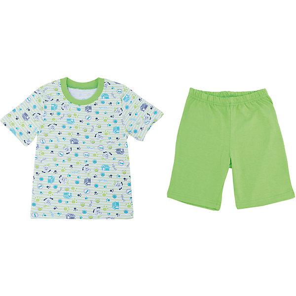 Пижама для мальчика АпрельПижамы и сорочки<br>Пижама для мальчика Апрель.<br><br>Характеристики:<br>• состав: 100% хлопок<br>• цвет: зеленый<br><br>Пижама от марки Апрель изготовлена из мягкого хлопка, приятного на ощупь. Зеленые шорты хорошо сочетаются с футболкой, имеющей забавный принт. Спать в такой пижаме очень комфортно!<br><br>Пижаму для мальчика Апрель можно приобрести в нашем интернет-магазине.<br><br>Ширина мм: 281<br>Глубина мм: 70<br>Высота мм: 188<br>Вес г: 295<br>Цвет: зеленый<br>Возраст от месяцев: 60<br>Возраст до месяцев: 72<br>Пол: Мужской<br>Возраст: Детский<br>Размер: 116,92,110,104,98<br>SKU: 4936798