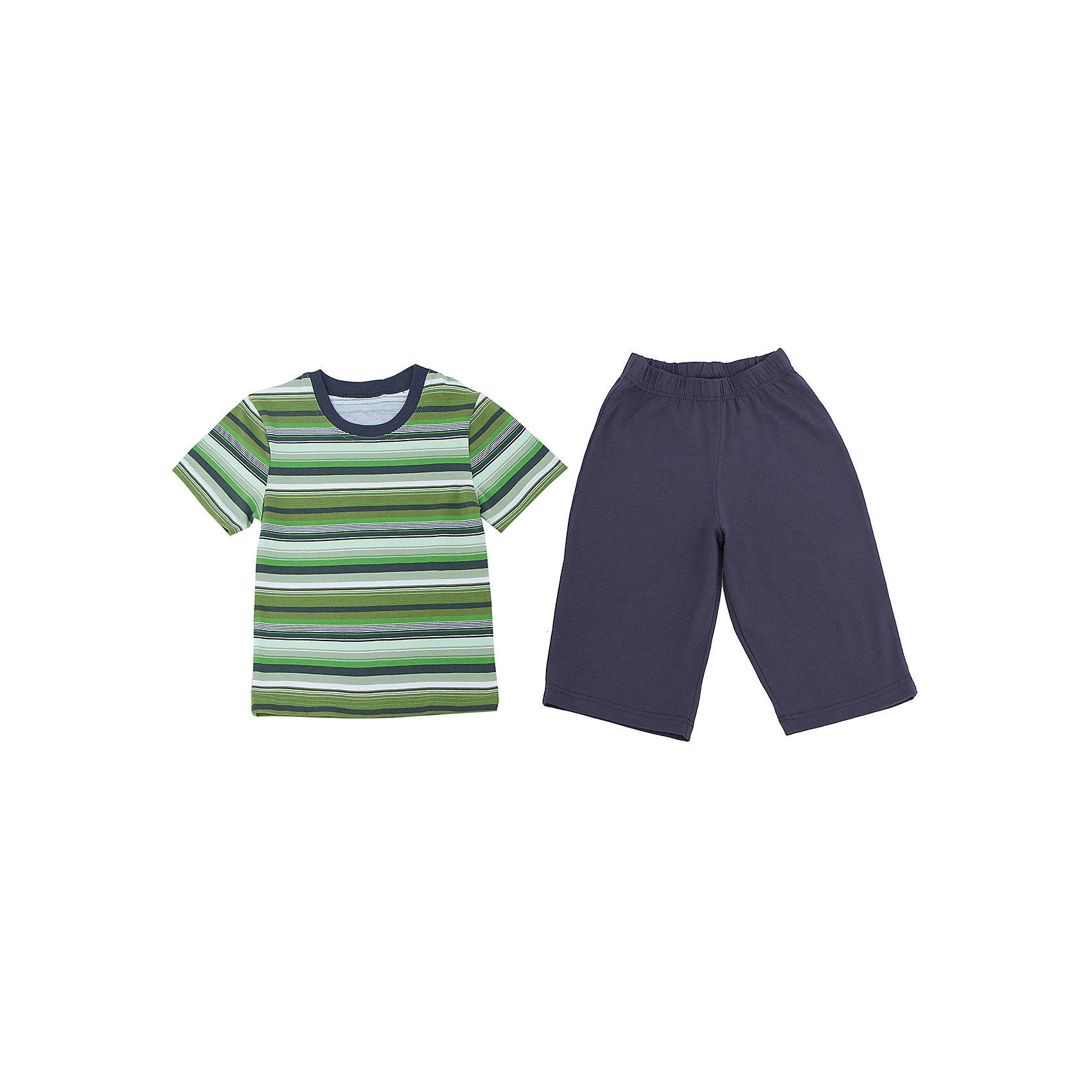 Пижама для мальчика АпрельПижама для мальчика Апрель.<br><br>Характеристики:<br>• состав: 100% хлопок<br>• цвет: зеленый<br><br>Пижама от марки Апрель изготовлена из мягкого хлопка, приятного на ощупь. Темные шорты хорошо сочетаются с футболкой в полоску. Спать в такой пижаме очень комфортно!<br><br>Пижаму для мальчика Апрель можно приобрести в нашем интернет-магазине.<br><br>Ширина мм: 281<br>Глубина мм: 70<br>Высота мм: 188<br>Вес г: 295<br>Цвет: зеленый<br>Возраст от месяцев: 48<br>Возраст до месяцев: 60<br>Пол: Мужской<br>Возраст: Детский<br>Размер: 110,128,122,116,104<br>SKU: 4936804