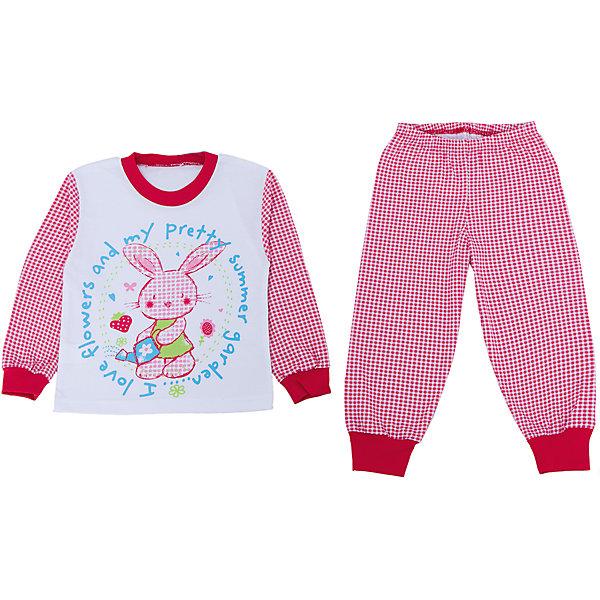 Пижама для девочки АпрельПижамы и сорочки<br>Пижама Апрель.<br><br>Характеристики:<br>• материал: хлопок<br>• цвет: белый<br><br>Яркая пижама от популярной марки Апрель выполнена из мягкого хлопка, приятного телу, что ребенок сможет оценить во время сна. Манжеты не позволят холодному воздуху проникнуть под одежду. Модель украшена ярким рисунком с зайчиком. В такой пижаме ваш ребенок увидит самые приятные и яркие сны!<br><br>Купить пижаму Апрель можно в нашем интернет-магазине.<br><br>Ширина мм: 281<br>Глубина мм: 70<br>Высота мм: 188<br>Вес г: 295<br>Цвет: красный/белый<br>Возраст от месяцев: 48<br>Возраст до месяцев: 60<br>Пол: Женский<br>Возраст: Детский<br>Размер: 110,116,92,98,104<br>SKU: 4936810