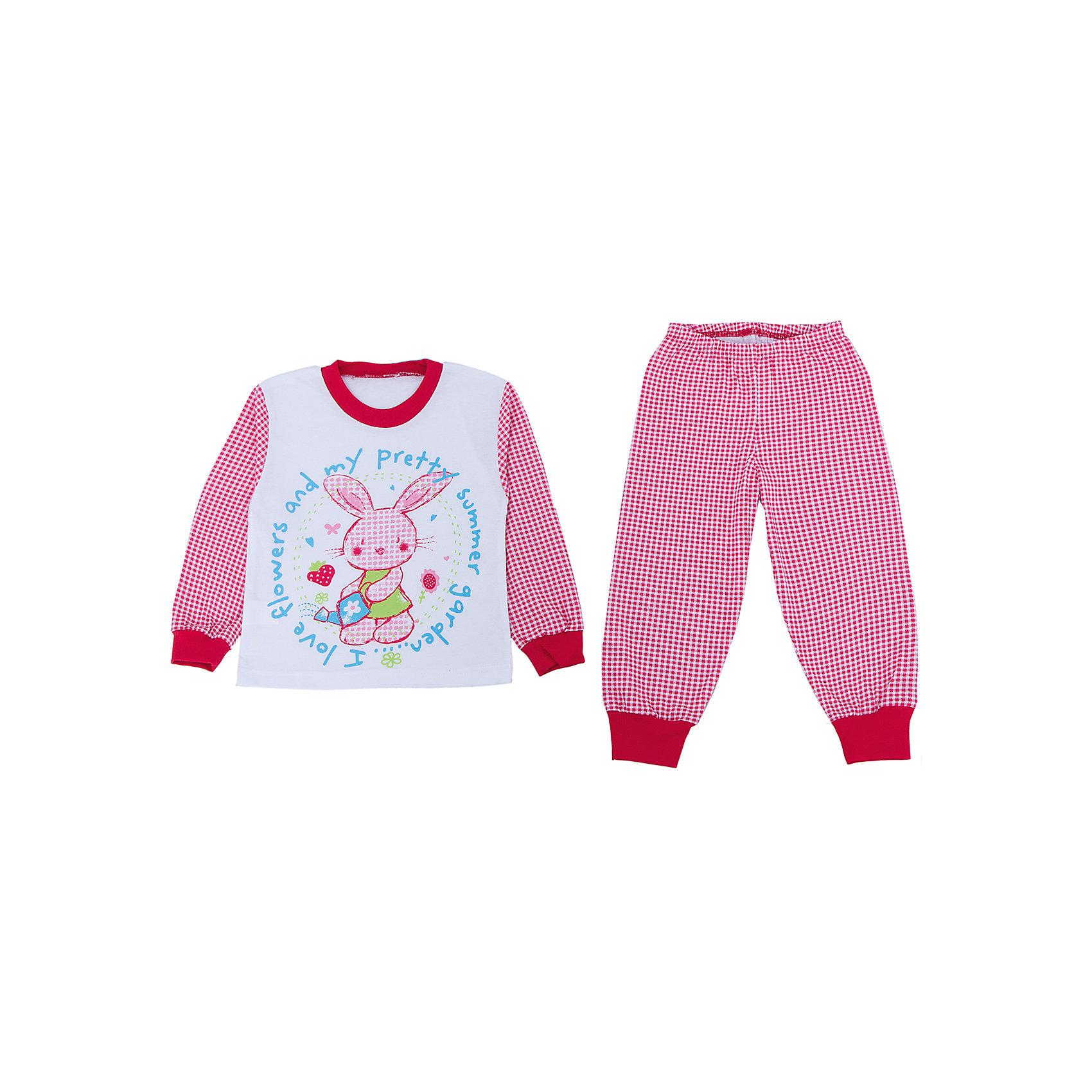 Пижама для девочки АпрельПижамы и сорочки<br>Пижама Апрель.<br><br>Характеристики:<br>• материал: хлопок<br>• цвет: белый<br><br>Яркая пижама от популярной марки Апрель выполнена из мягкого хлопка, приятного телу, что ребенок сможет оценить во время сна. Манжеты не позволят холодному воздуху проникнуть под одежду. Модель украшена ярким рисунком с зайчиком. В такой пижаме ваш ребенок увидит самые приятные и яркие сны!<br><br>Купить пижаму Апрель можно в нашем интернет-магазине.<br><br>Ширина мм: 281<br>Глубина мм: 70<br>Высота мм: 188<br>Вес г: 295<br>Цвет: белый/красный<br>Возраст от месяцев: 24<br>Возраст до месяцев: 36<br>Пол: Женский<br>Возраст: Детский<br>Размер: 104,92,110,98,116<br>SKU: 4936810