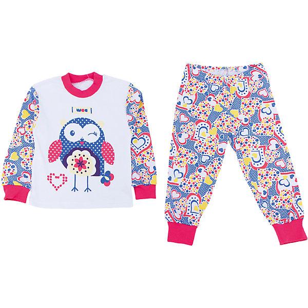 Пижама для девочки АпрельПижамы и сорочки<br>Пижама Апрель.<br><br>Характеристики:<br>• материал: хлопок<br>• цвет: синий<br><br>Яркая пижама от популярной марки Апрель выполнена из мягкого хлопка, приятного телу, что ребенок сможет оценить во время сна. Манжеты не позволят холодному воздуху проникнуть под одежду. Модель украшена ярким рисунком с сердечками и совой. В такой пижаме ваш ребенок увидит самые приятные и яркие сны!<br><br>Купить пижаму Апрель можно в нашем интернет-магазине.<br><br>Ширина мм: 281<br>Глубина мм: 70<br>Высота мм: 188<br>Вес г: 295<br>Цвет: синий/белый<br>Возраст от месяцев: 60<br>Возраст до месяцев: 72<br>Пол: Женский<br>Возраст: Детский<br>Размер: 116,92,110,104,98<br>SKU: 4936895