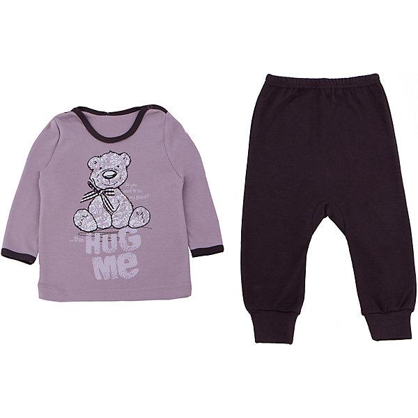 Пижама для девочки АпрельПижамы и сорочки<br>Пижама Апрель.<br><br>Характеристики:<br>• состав: 100% хлопок<br>• цвет: бежевый <br>• рисунок: мишка<br><br>Пижама Апрель изготовлена из дышащих материалов, благодаря чему ваш ребенок не вспотеет во время сна. Зауженные манжеты и резинка на поясе не пропустят холодный воздух к телу. Ворот застегивается с помощью кнопки. Милый принт с мишкой подарит ребенку самые сладкие сны!<br><br>Вы можете приобрести пижаму Апрель в нашем интернет-магазине.<br><br>Ширина мм: 281<br>Глубина мм: 70<br>Высота мм: 188<br>Вес г: 295<br>Цвет: бежевый/коричневый<br>Возраст от месяцев: 6<br>Возраст до месяцев: 9<br>Пол: Женский<br>Возраст: Детский<br>Размер: 74,92,80,86<br>SKU: 4936928