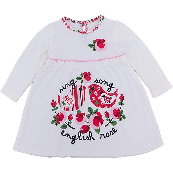 Платье для девочки АпрельПлатья<br>Платье для девочки известной марки Апрель<br><br>Состав: хлопок 100%<br><br>Ширина мм: 236<br>Глубина мм: 16<br>Высота мм: 184<br>Вес г: 177<br>Цвет: белый<br>Возраст от месяцев: 6<br>Возраст до месяцев: 9<br>Пол: Женский<br>Возраст: Детский<br>Размер: 74,98,92,86,80<br>SKU: 4936943