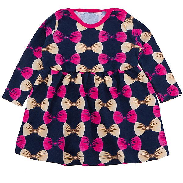 Платье для девочки АпрельПлатья<br>Платье для девочки Апрель.<br><br>Характеристики: <br>• состав: 100% хлопок<br>• цвет: синий <br><br>Платье от известной марки Апрель имеет приталенный силуэт и длинные рукава. Оно застегивается на кнопки около ворота. Яркая расцветка с бантиками привлечет внимание и позволит девочке почувствовать себя настоящей принцессой!<br><br>Вы можете купить платье для девочки Апрель в нашем интернет-магазине.<br>Ширина мм: 236; Глубина мм: 16; Высота мм: 184; Вес г: 177; Цвет: синий; Возраст от месяцев: 6; Возраст до месяцев: 9; Пол: Женский; Возраст: Детский; Размер: 74,98,92,86,80; SKU: 4936960;