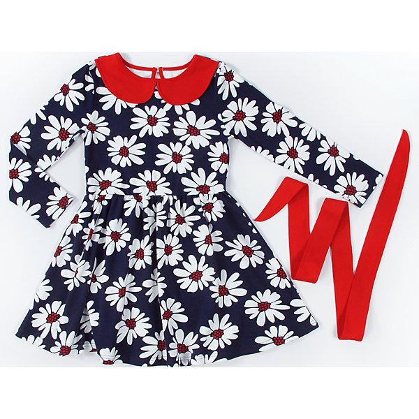 Платье для девочки АпрельПлатья и сарафаны<br>Платье для девочки Апрель.<br><br>Характеристики:<br><br>• материал: хлопок<br>• цвет: синий/красный<br>• рукав: длинный<br><br>Платье от известной марки Апрель изготовлено из качественных дышащих материалов, благодаря чему хорошо сидит по фигуре. Платье декорировано принтом с цветочным орнаментом, оборками и контрастной расцветкой ворота. Платье застегивается сзади, украшено ярким поясом. Такое модное платье подойдет как для повседневной носки, так и для праздника.<br><br>Платье для девочки Апрель вы можете купить в нашем интернет-магазине.<br>Ширина мм: 236; Глубина мм: 16; Высота мм: 184; Вес г: 177; Цвет: синий/красный; Возраст от месяцев: 48; Возраст до месяцев: 60; Пол: Женский; Возраст: Детский; Размер: 110,92,128,122,116,104,98; SKU: 4936996;