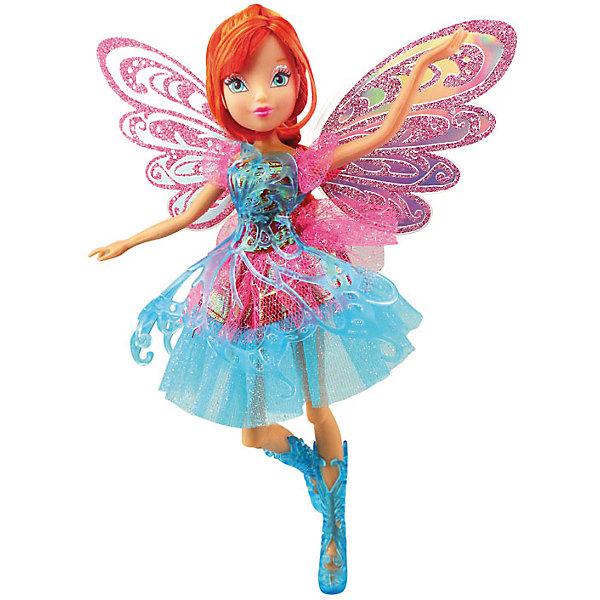 Кукла Баттерфликс-2. Двойные крылья Bloom, Winx ClubКуклы<br>Кукла Баттерфликс-2. Двойные крылья Bloom, Winx Club ?  любимые героини многих девочек из популярного мультсериала о феях. Фея Блум выполнена в компактном размере из безопасного пластика высокого качества, ее рукам и ногам можно придавать различные положения. У феи этой серии двойные съемные крылышки, украшенные ажурным полупрозрачным узором. У Блум легкое воздушное платье и ажурные сапожки. <br>Кукла Баттерфликс-2. Двойные крылья Bloom, Winx Club порадует любую поклонницу этого сериала.<br><br>Дополнительная информация:<br><br>- Вид игр: сюжетно-ролевые, коллекционирование <br>- Материал: нейлон, текстиль, пластик<br>- Цвет: голубой, оттенки розового<br>- Размер (Д*Ш*В): 29*6*34,5 см<br>- Вес: 417 г <br>- Особенности ухода: <br><br>Подробнее:<br><br>• Для детей в возрасте: от 3 лет и до 12 лет <br>• Страна производитель: Китай<br>• Торговый бренд: Melobo<br><br>Куклу Баттерфликс-2. Двойные крылья Bloom, Winx Club можно купить в нашем интернет-магазине.<br>Ширина мм: 290; Глубина мм: 60; Высота мм: 345; Вес г: 417; Возраст от месяцев: 36; Возраст до месяцев: 144; Пол: Женский; Возраст: Детский; SKU: 4937826;