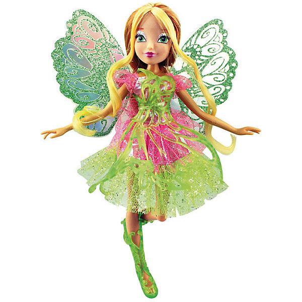 Кукла Баттерфликс-2. Двойные крылья Flora, Winx ClubКуклы<br>Кукла Баттерфликс-2. Двойные крылья Stella, Winx Club ?  любимые героини многих девочек из популярного мультсериала о феях. Фея Стелла выполнена в компактном размере из безопасного пластика высокого качества, ее рукам и ногам можно придавать различные положения. У феи этой серии двойные съемные крылышки, украшенные ажурным полупрозрачным узором. У Стеллы легкое воздушное платье и ажурные сапожки. <br>Кукла Баттерфликс-2. Двойные крылья Stella, Winx Club порадует любую поклонницу этого сериала.<br><br>Дополнительная информация:<br><br>- Вид игр: сюжетно-ролевые, коллекционирование <br>- Материал: нейлон, текстиль, пластик<br>- Цвет: желтый, оттенки розового<br>- Размер (Д*Ш*В): 29*6*34,5 см<br>- Вес: 417 г <br>- Особенности ухода: <br><br>Подробнее:<br><br>• Для детей в возрасте: от 3 лет и до 12 лет <br>• Страна производитель: Китай<br>• Торговый бренд: Melobo<br><br>Куклу Баттерфликс-2. Двойные крылья Stella, Winx Club можно купить в нашем интернет-магазине.<br><br>Ширина мм: 290<br>Глубина мм: 60<br>Высота мм: 345<br>Вес г: 417<br>Возраст от месяцев: 36<br>Возраст до месяцев: 144<br>Пол: Женский<br>Возраст: Детский<br>SKU: 4937827
