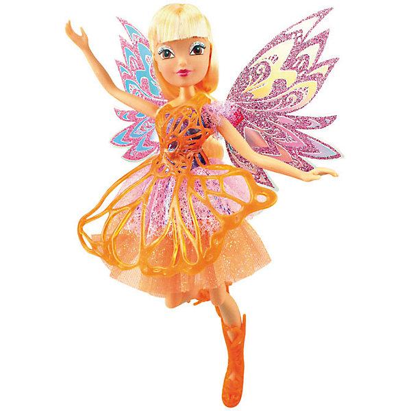 Кукла Баттерфликс-2. Двойные крылья Flora, Winx ClubБренды кукол<br>Кукла Баттерфликс-2. Двойные крылья Flora, Winx Club ?  любимые героини многих девочек из популярного мультсериала о феях. Фея Флора выполнена в компактном размере из безопасного пластика высокого качества, ее рукам и ногам можно придавать различные положения. У феи этой серии двойные съемные крылышки, украшенные ажурным полупрозрачным узором. У Флоры легкое воздушное платье и ажурные сапожки. <br>Кукла Баттерфликс-2. Двойные крылья Flora, Winx Club порадует любую поклонницу этого сериала.<br><br>Дополнительная информация:<br><br>- Вид игр: сюжетно-ролевые, коллекционирование <br>- Материал: нейлон, текстиль, пластик<br>- Цвет: оттенки зеленого, розовый<br>- Размер (Д*Ш*В): 29*6*34,5 см<br>- Вес: 417 г <br>- Особенности ухода: <br><br>Подробнее:<br><br>• Для детей в возрасте: от 3 лет и до 12 лет <br>• Страна производитель: Китай<br>• Торговый бренд: Melobo<br><br>Куклу Баттерфликс-2. Двойные крылья Flora, Winx Club можно купить в нашем интернет-магазине.<br><br>Ширина мм: 290<br>Глубина мм: 60<br>Высота мм: 345<br>Вес г: 417<br>Возраст от месяцев: 36<br>Возраст до месяцев: 144<br>Пол: Женский<br>Возраст: Детский<br>SKU: 4937828