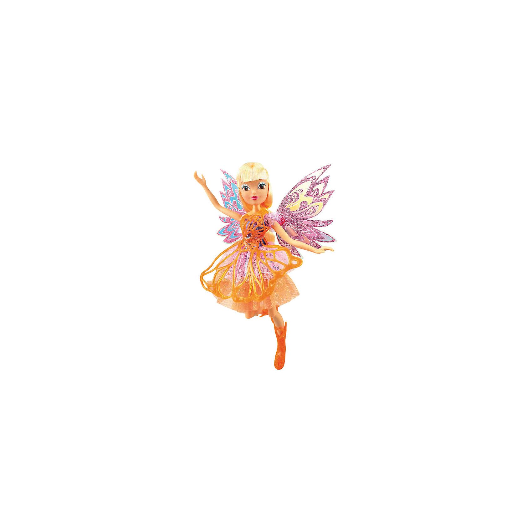 Gulliver Кукла Баттерфликс-2. Двойные крылья Flora, Winx Club gulliver игровой набор блум волшебный трон winx club