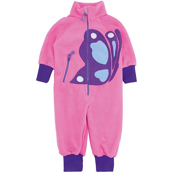 Комбинезон Бабочка для девочки ЛисФлисФлис и термобелье<br>Характеристики комбинезона:<br><br>- пол: для девочек <br>- комплект: комбинезон<br>- длина рукава: длинные<br>- цвет: розовый/фиолетовый, голубой<br>- вид застежки: молния<br>- тип карманов: накладные<br>- материал: флис<br>- уход: предварительная стирка<br>- рисунок: бабочка<br>- утеплитель: без утепления<br>- назначение: повседневная<br>- сезон: круглогодичный<br>- страна бренда: Россия<br>- страна производитель: Россия<br><br>Ярко-розовый комбинезон Бабочка создан специально для всех милых, красивых и активных девочек. Ведь на нем изображена красавица бабочка, в таком комбинезоне Ваша девочка не останется не замеченной.А все девочки так любят наряжаться! А еще гулять, кататься с горок и валяться в снегу! Комбинезон с аппликацией Бабочка выполнен из флиса плотностью 280 гр., с кармашком на молнии. Акриловые манжеты на рукавах и штанинах, резинка на спине для лучшей посадки изделия.<br><br>Комбинезон для девочки торговой марки ЛисФлис  можно купить в нашем интернет-магазине.<br><br>Ширина мм: 215<br>Глубина мм: 88<br>Высота мм: 191<br>Вес г: 336<br>Цвет: розовый<br>Возраст от месяцев: 12<br>Возраст до месяцев: 15<br>Пол: Женский<br>Возраст: Детский<br>Размер: 122,92,86,116,110,80,104,128,98<br>SKU: 4938816