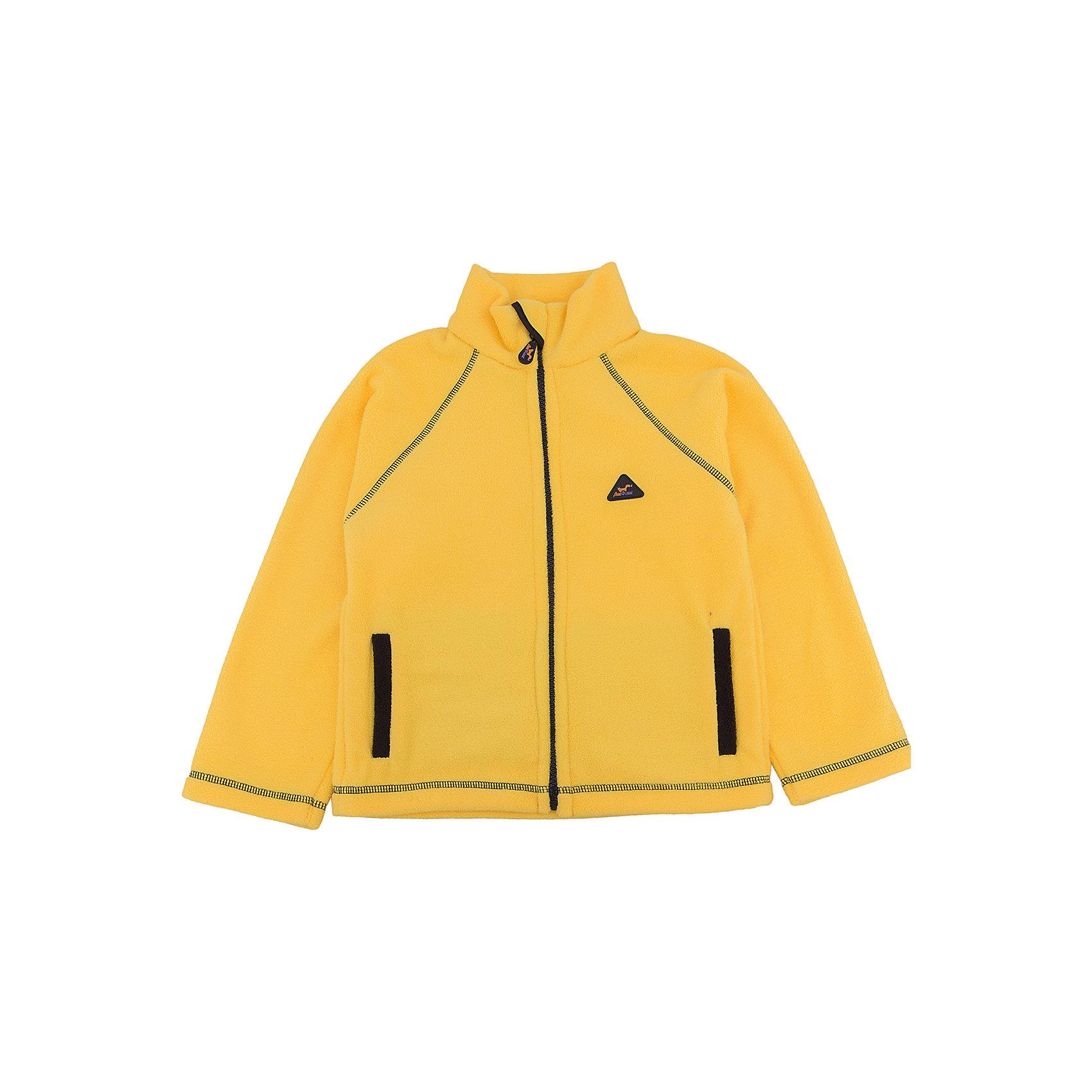 Толстовка Радуга ЛисФлисТолстовки<br>Характеристики кофты ЛисФлис :<br><br>- комплектация: кофта<br>- пол: для мальчика, для девочки<br>- цвет: желтый<br>- длина рукава: длинные<br>- вид застежки: молния<br>- тип карманов: накладные<br>- покрой: прямой<br>- декоративные элементы: логотип ЛисФлис<br>- фактура материала: флис<br>- уход за вещами: предварительная стирка<br>- рисунок: без рисунка<br>- назначение: повседневная<br>- вырез горловины: воротник-стойка<br>- сезон: круглогодичный<br>- страна бренда: Россия<br>- страна производитель: Россия<br><br>Кофта Радуга желтого цвета торговой марки ЛисФлис - яркая, теплая и комфортная! Изделие украшено контрастной отделкой! И, как всегда, Вы можете выбрать свой цвет из многообразия расцветок этой линии.<br><br>Кофту Радуга торговой марки ЛисФлис можно купить в нашем интернет-магазине.<br><br>Ширина мм: 190<br>Глубина мм: 74<br>Высота мм: 229<br>Вес г: 236<br>Цвет: желтый<br>Возраст от месяцев: 84<br>Возраст до месяцев: 96<br>Пол: Унисекс<br>Возраст: Детский<br>Размер: 128,146,80,86,92,98,104,110,116,122,134,140<br>SKU: 4939137