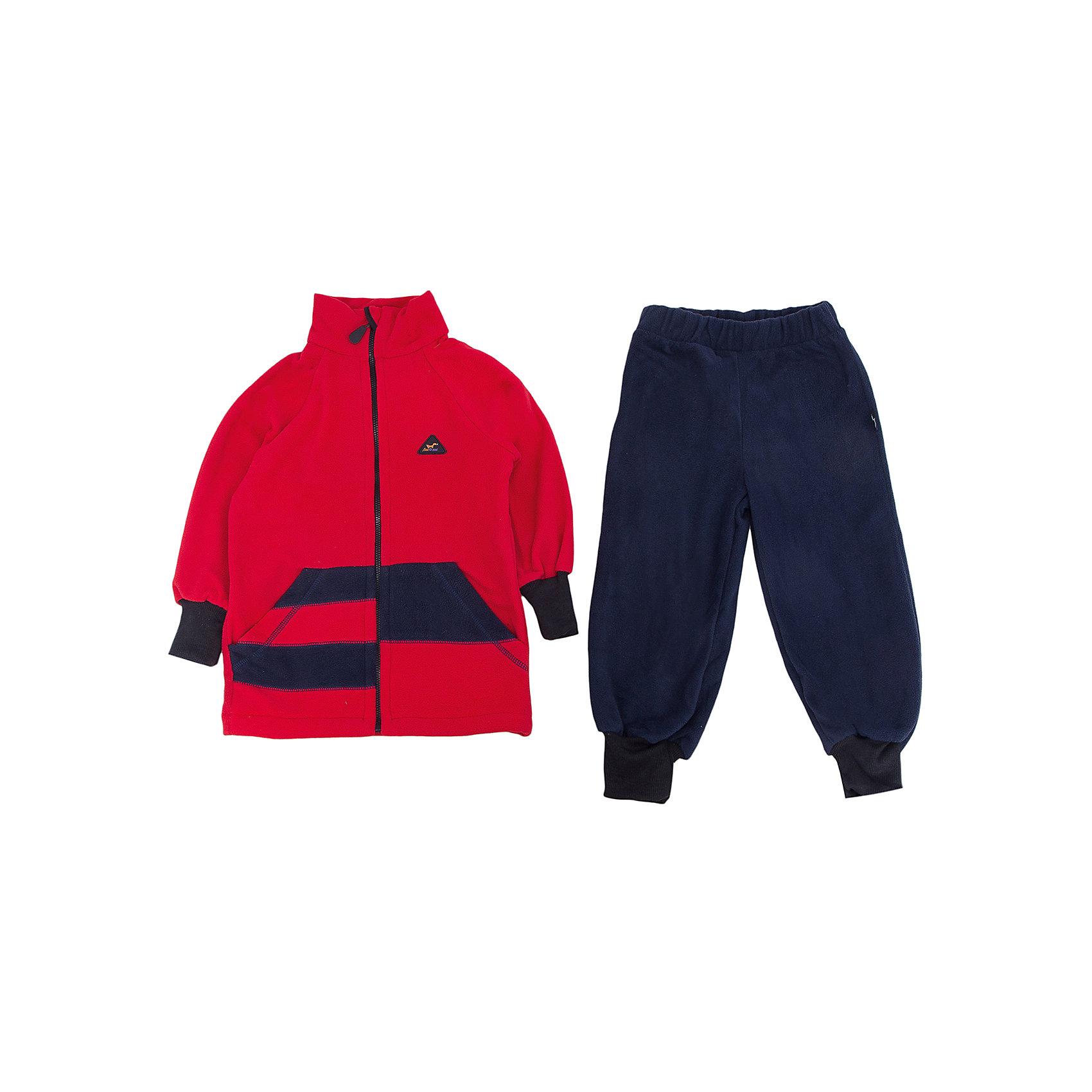 Комплект Полоска ЛисФлисФлис и термобелье<br>Характеристики комплекта Полоска:<br><br>- модель костюма: с брюками<br>- комплектация: кофта, штаны<br>- цвет: красный, синий<br>- пол: для мальчиков, для девочек <br>- длина рукава: длинные<br>- вид застежки: молния<br>- тип карманов: накладные<br>- покрой: прямой<br>- фактура материала: флис<br>- уход за вещами: предварительная стирка<br>- рисунок: без рисунка<br>- утеплитель: без утепления<br>- назначение: повседневная<br>- сезон: круглогодичный<br>- страна бренда: Россия<br>- страна производитель: Россия<br><br>Комплект Полоска торговой марки ЛисФлис - это очень мягкий, легкий и теплый! Изделие выполнено из двустороннего микрофлиса (180 гр.) с манжетами на рукавах и штанинах, защитой-стоппером от молнии и интересным дизайнерским решением на передней части кофты.<br><br>Комплект Полоска торговой марки ЛисФлис можно купить в нашем интернет-магазине.<br><br>Ширина мм: 190<br>Глубина мм: 74<br>Высота мм: 229<br>Вес г: 236<br>Цвет: красный/синий<br>Возраст от месяцев: 96<br>Возраст до месяцев: 108<br>Пол: Мужской<br>Возраст: Детский<br>Размер: 80,86,92,98,104,110,116,122,128,134<br>SKU: 4939377
